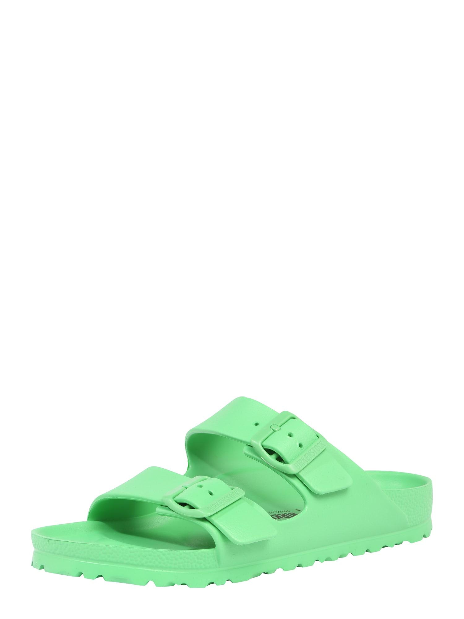 Pantofle Arizona EVA schmal zelená BIRKENSTOCK