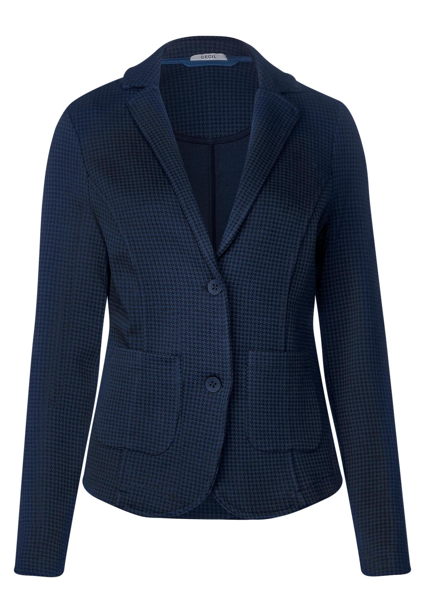 Sweatblazer | Bekleidung > Blazer > Sweatblazer | Blau | cecil