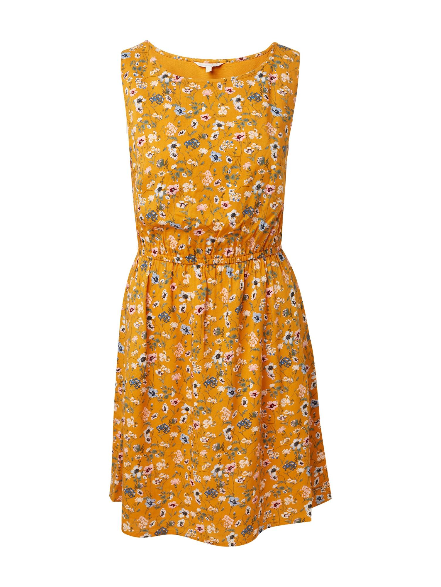 Letní šaty žlutá TOM TAILOR DENIM