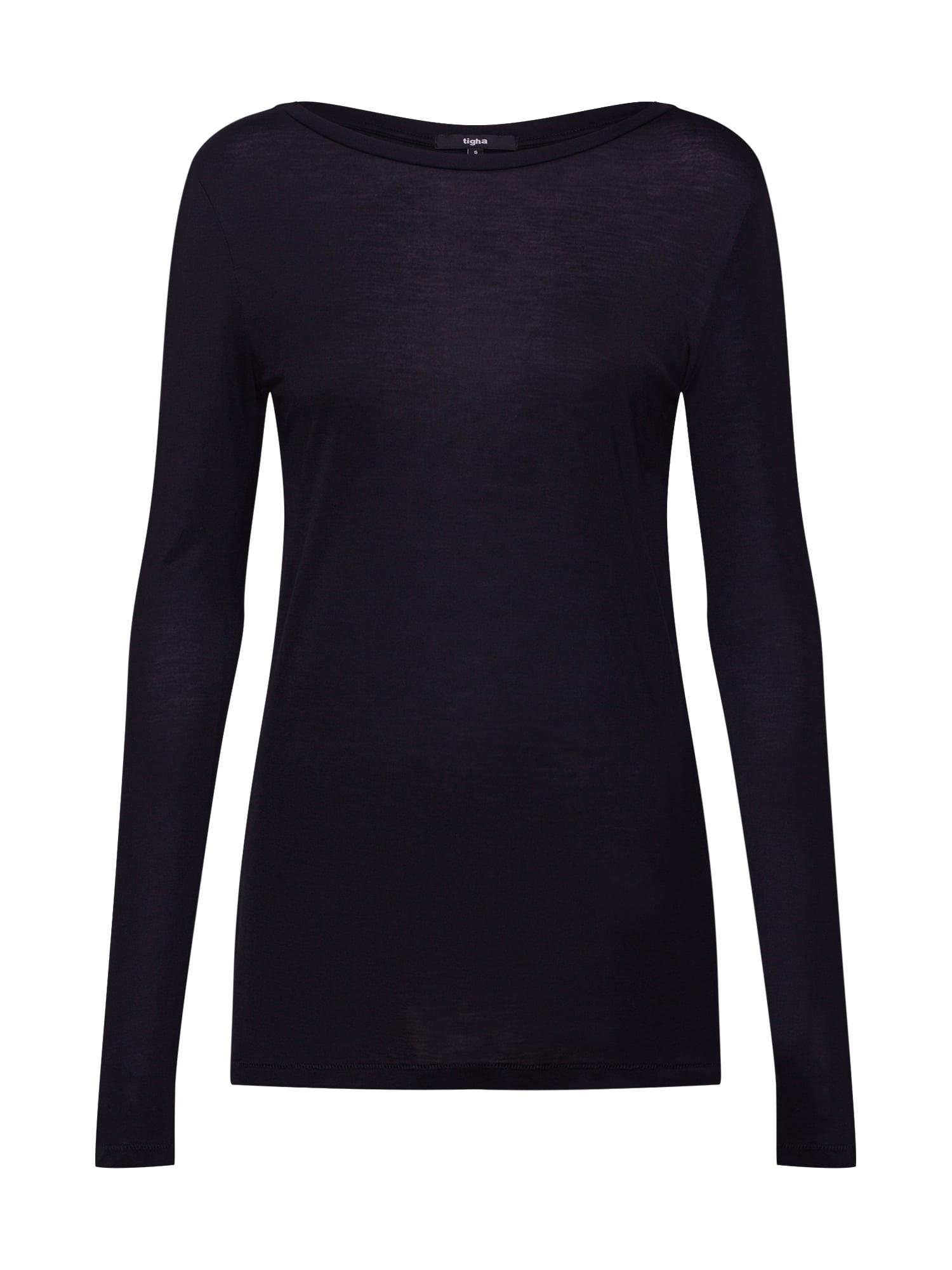 Tričko Lora černá Tigha
