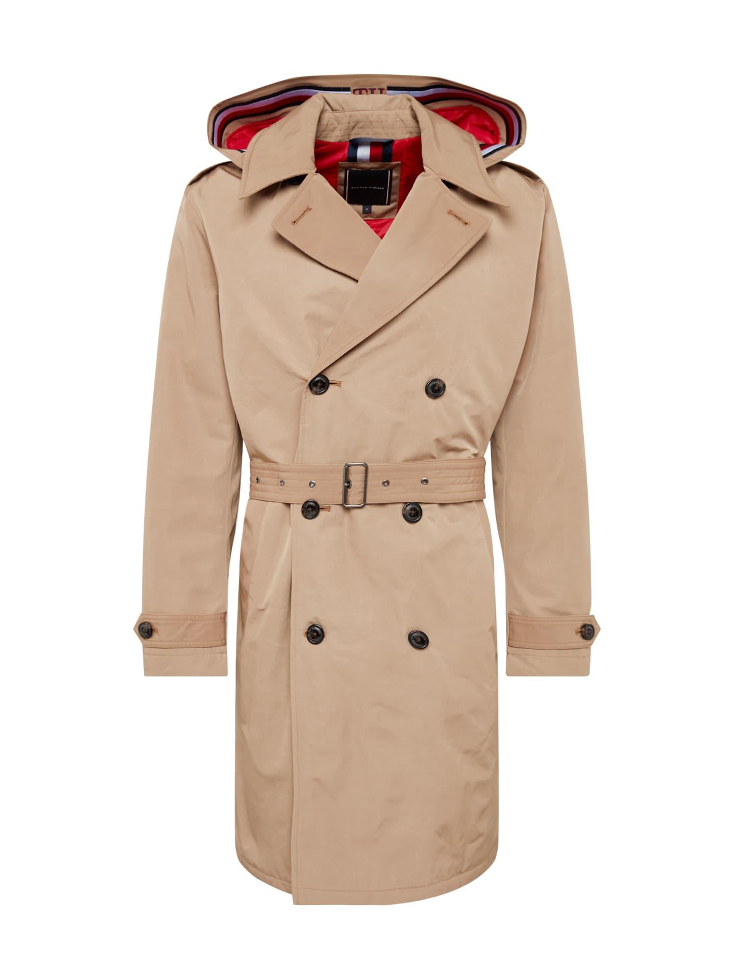 Přechodný kabát velbloudí TOMMY HILFIGER