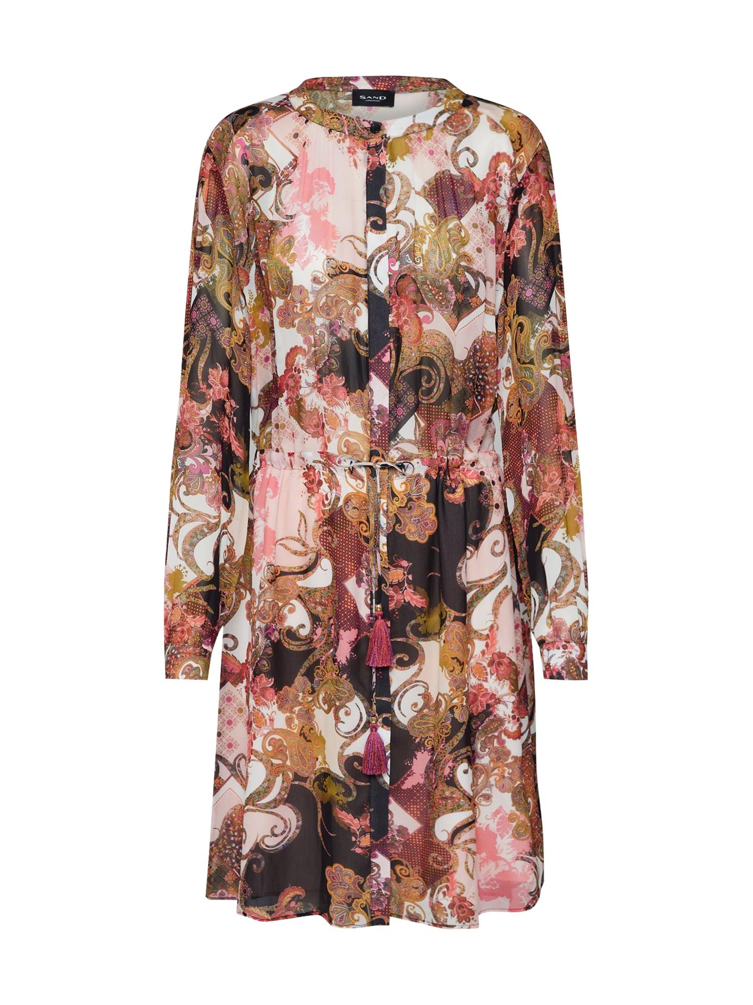 Letní šaty Zihia mix barev SAND COPENHAGEN