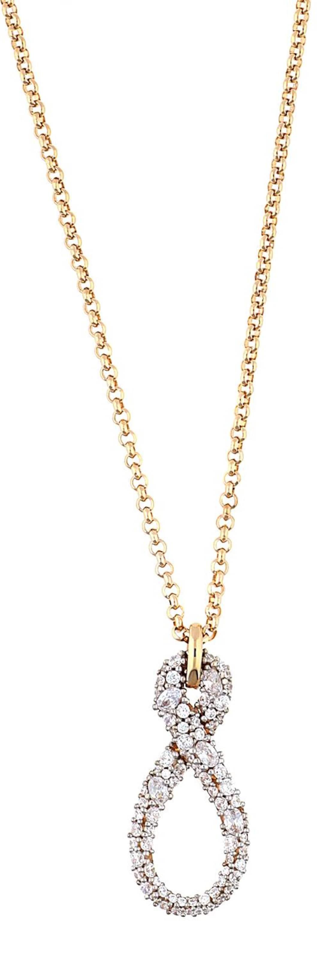 Halskette ´Erisis´ mit Zirkonia-Steinen