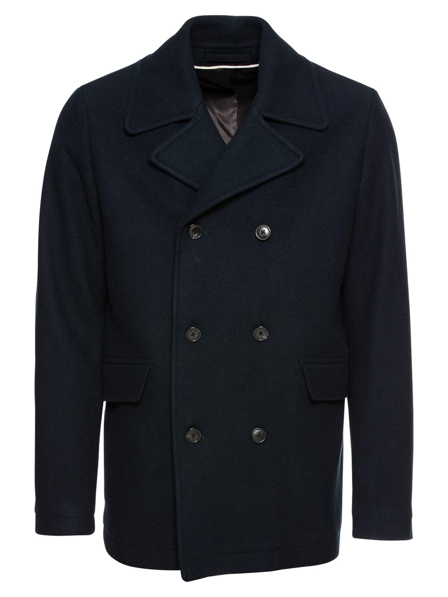 Přechodný kabát námořnická modř SELECTED HOMME