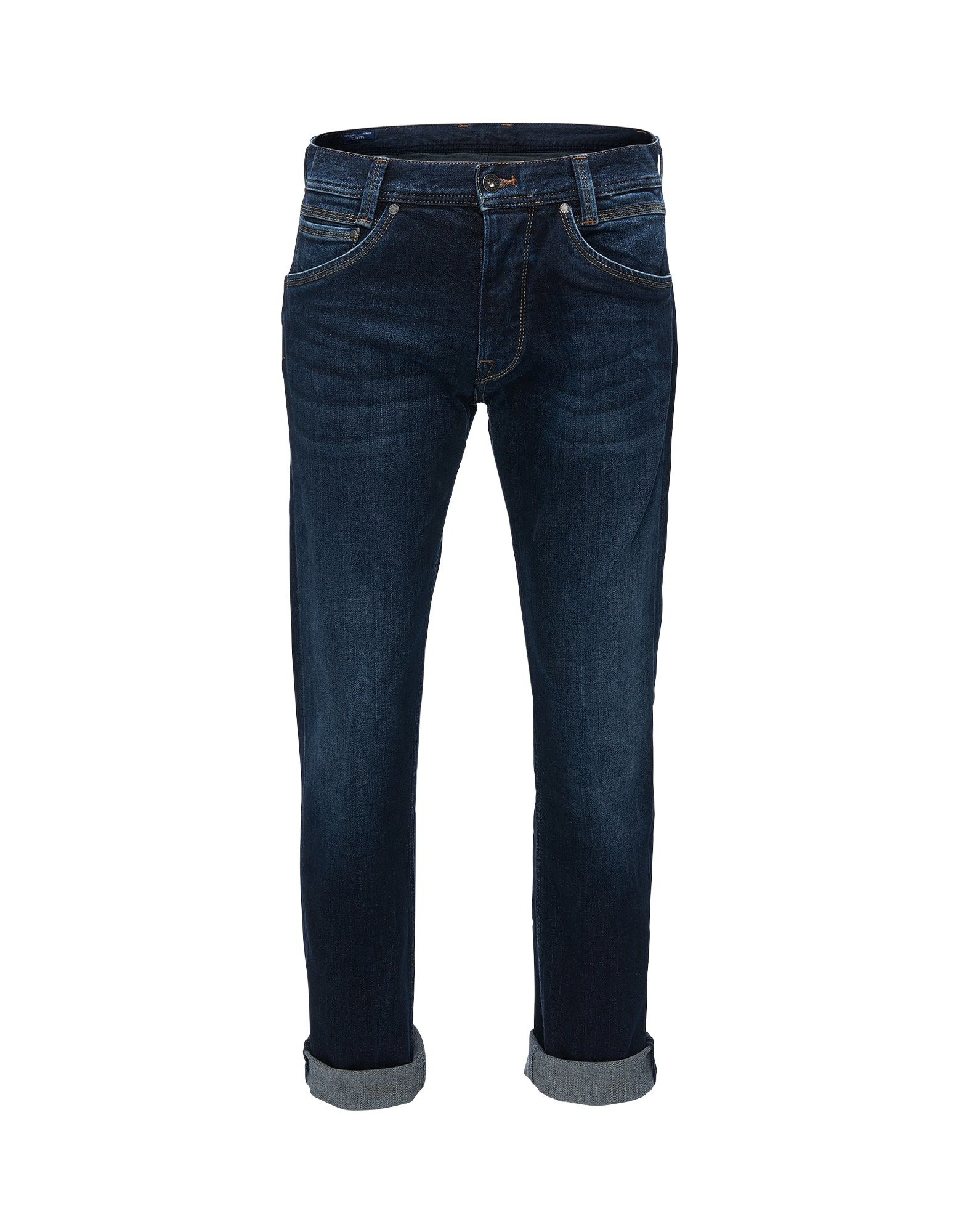 Pepe Jeans Heren Jeans Spike donkerblauw