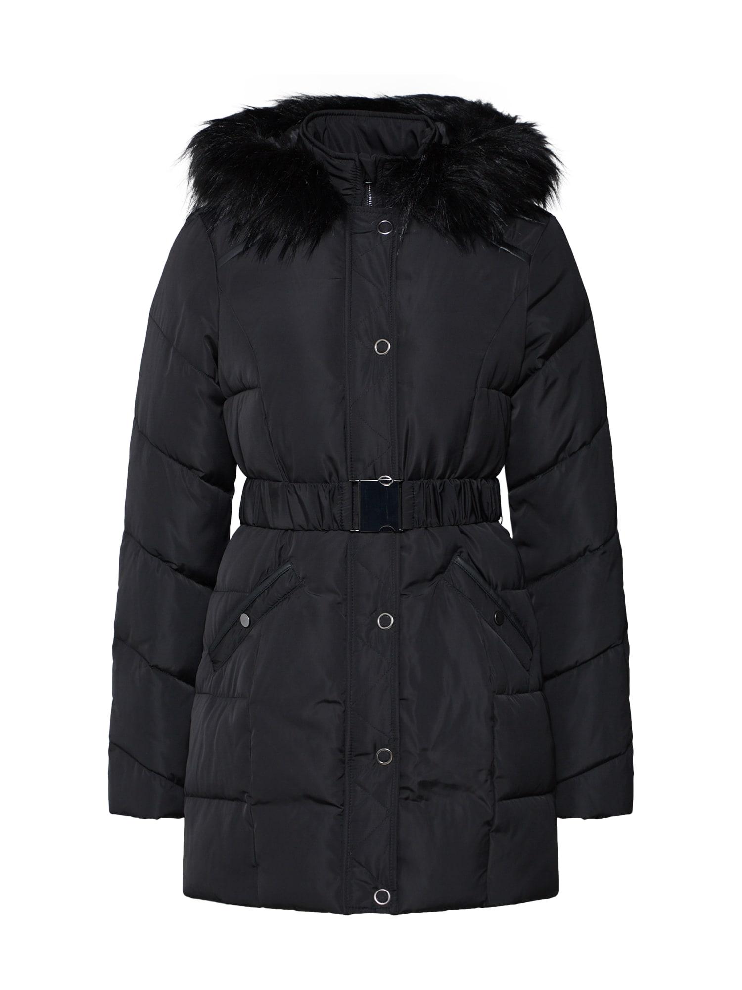Zimní kabát Melia černá ABOUT YOU