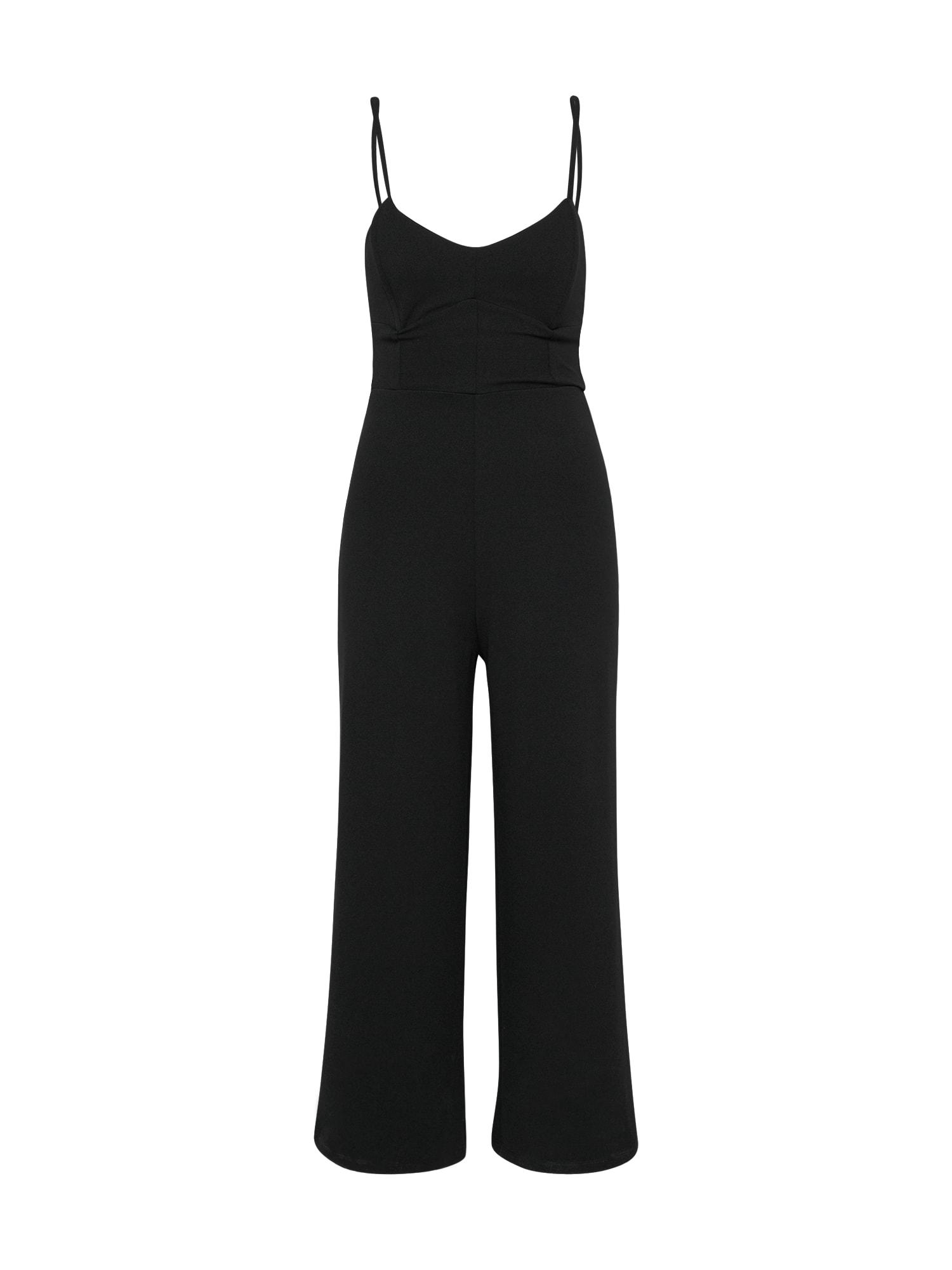 EDITED, Dames Jumpsuit 'Fibi', zwart