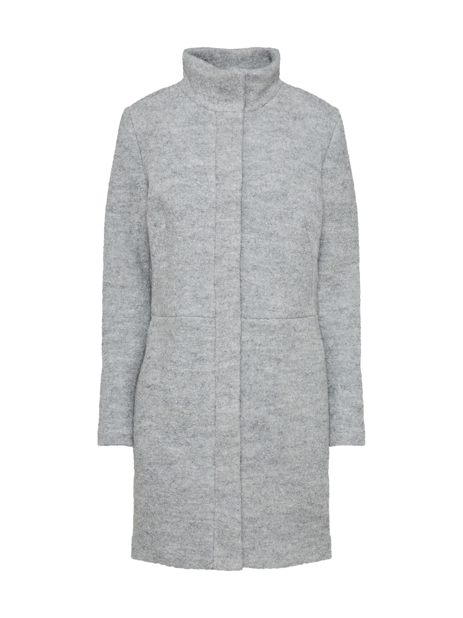 Zimní kabát Vialanis šedý melír VILA