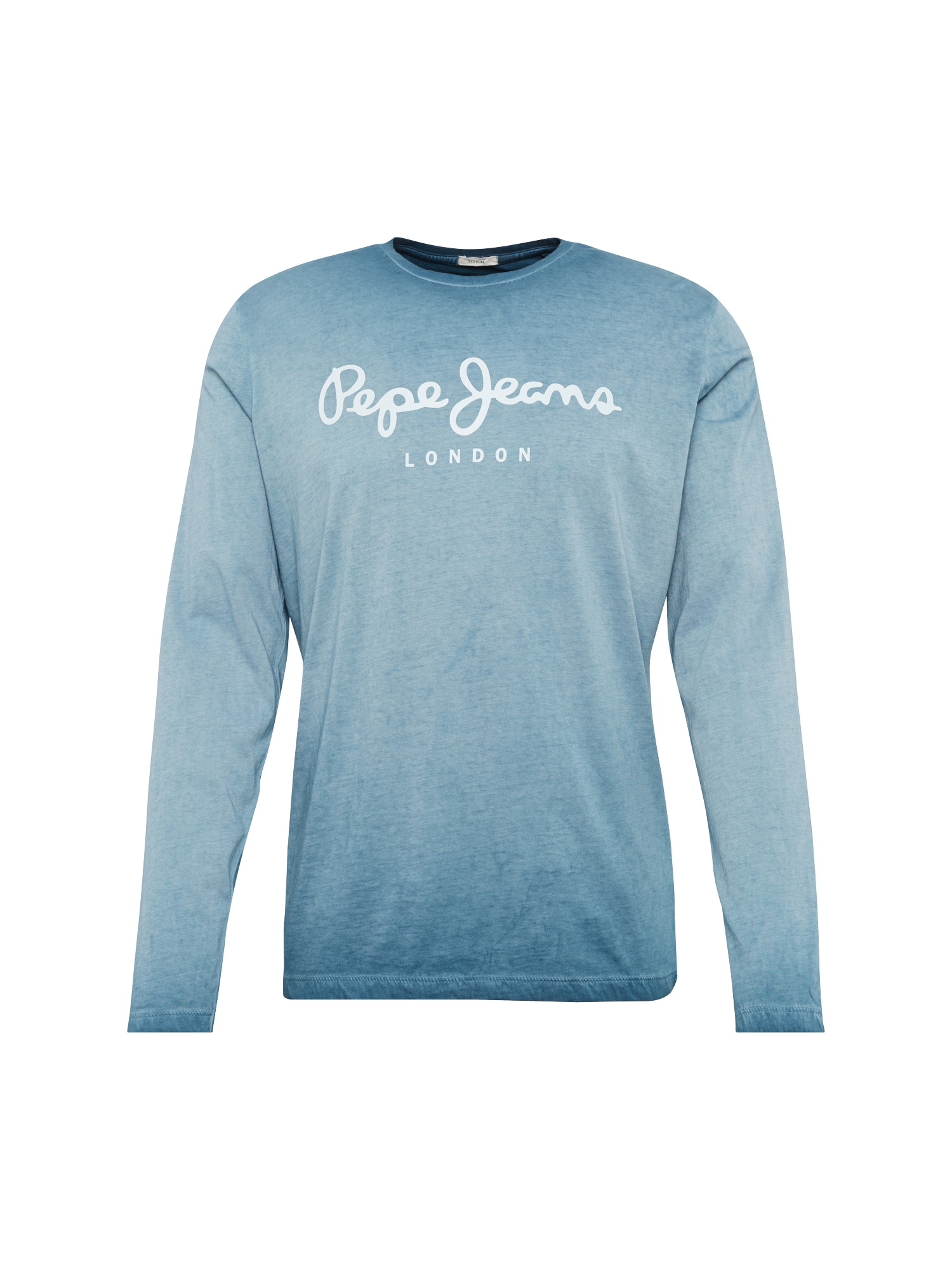 Pepe Jeans Heren Shirt WEST SIR II L S blauw wit