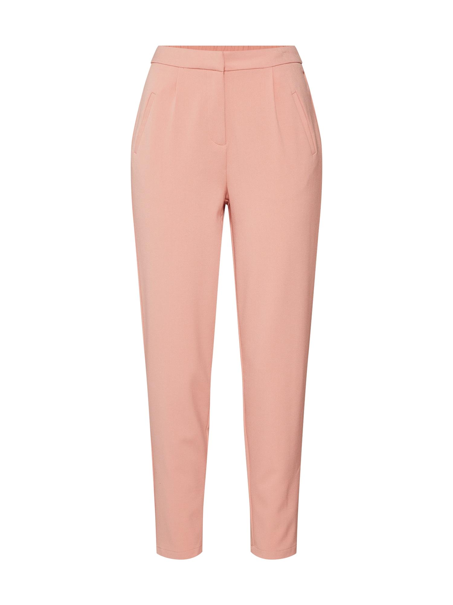 Kalhoty se sklady v pase YASCLADY starorůžová Y.A.S