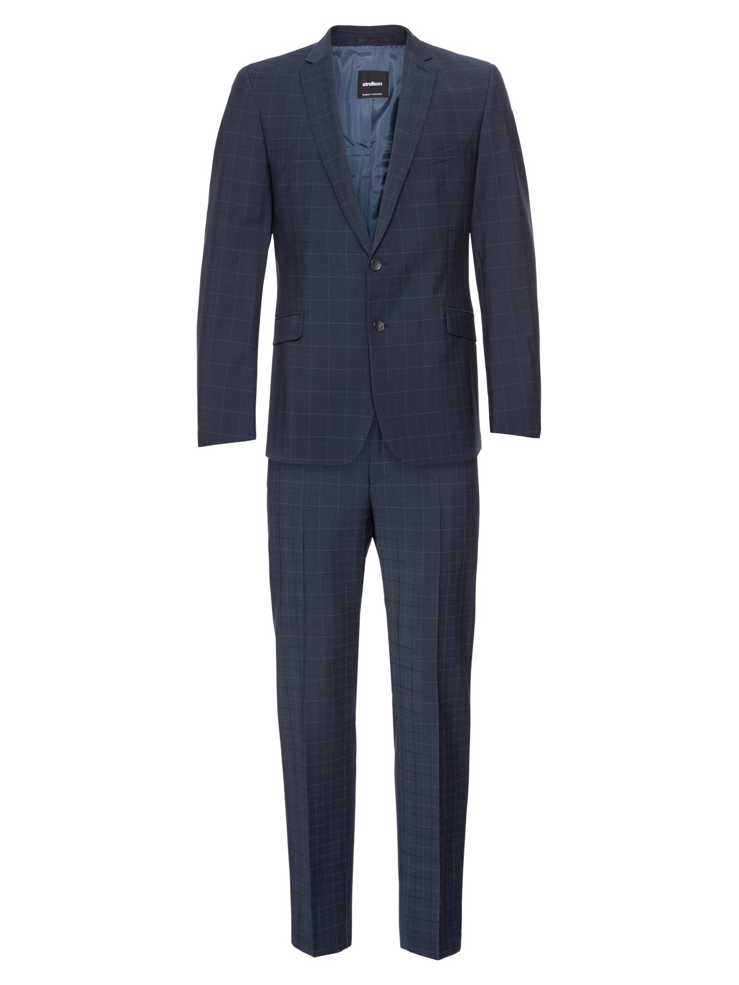 Oblek Allen Mercer 1000 tmavě modrá STRELLSON