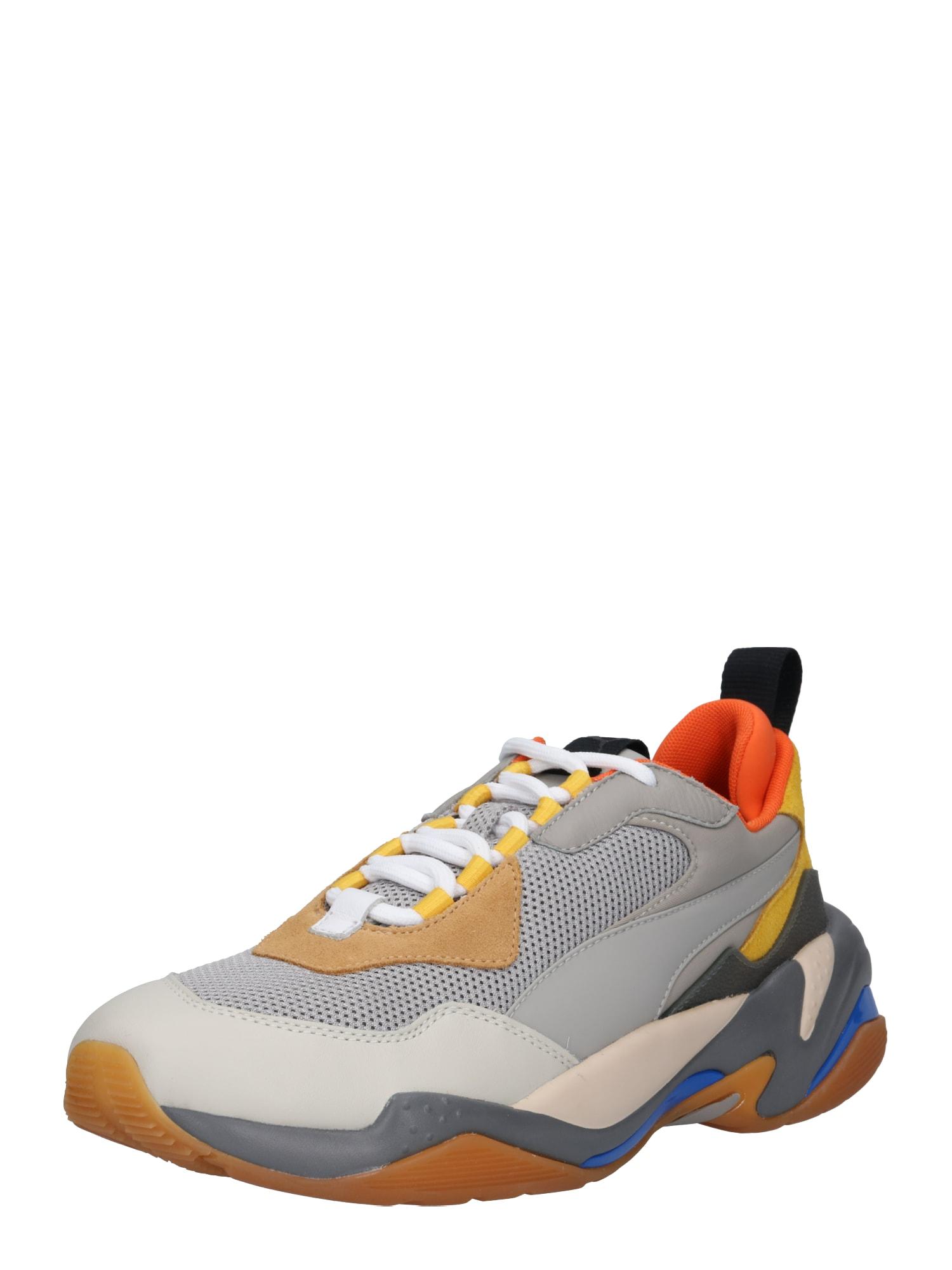 PUMA, Heren Sneakers laag 'Thunder Spectra', grijs / gemengde kleuren