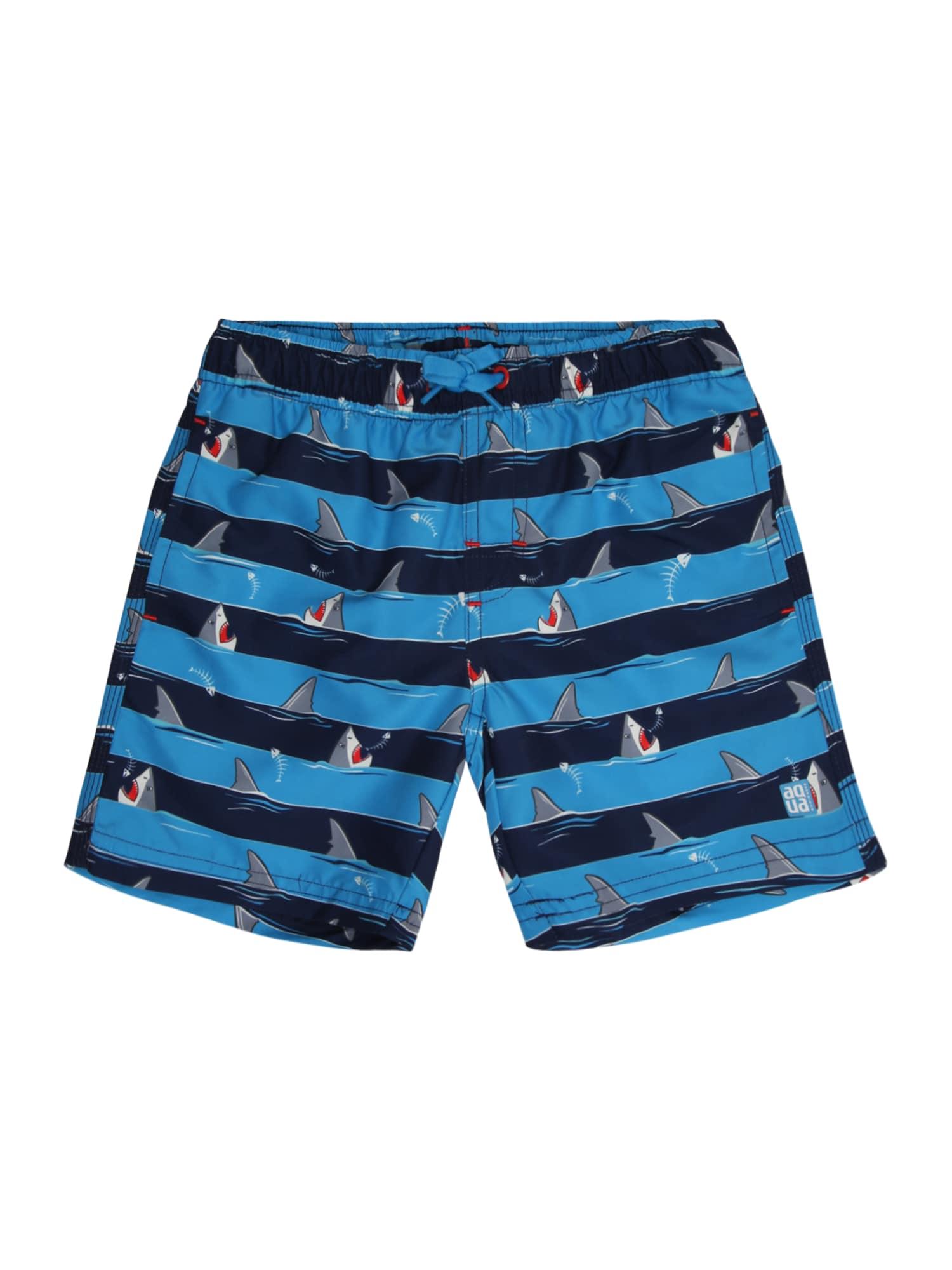 Plavecké šortky světlemodrá SCHIESSER