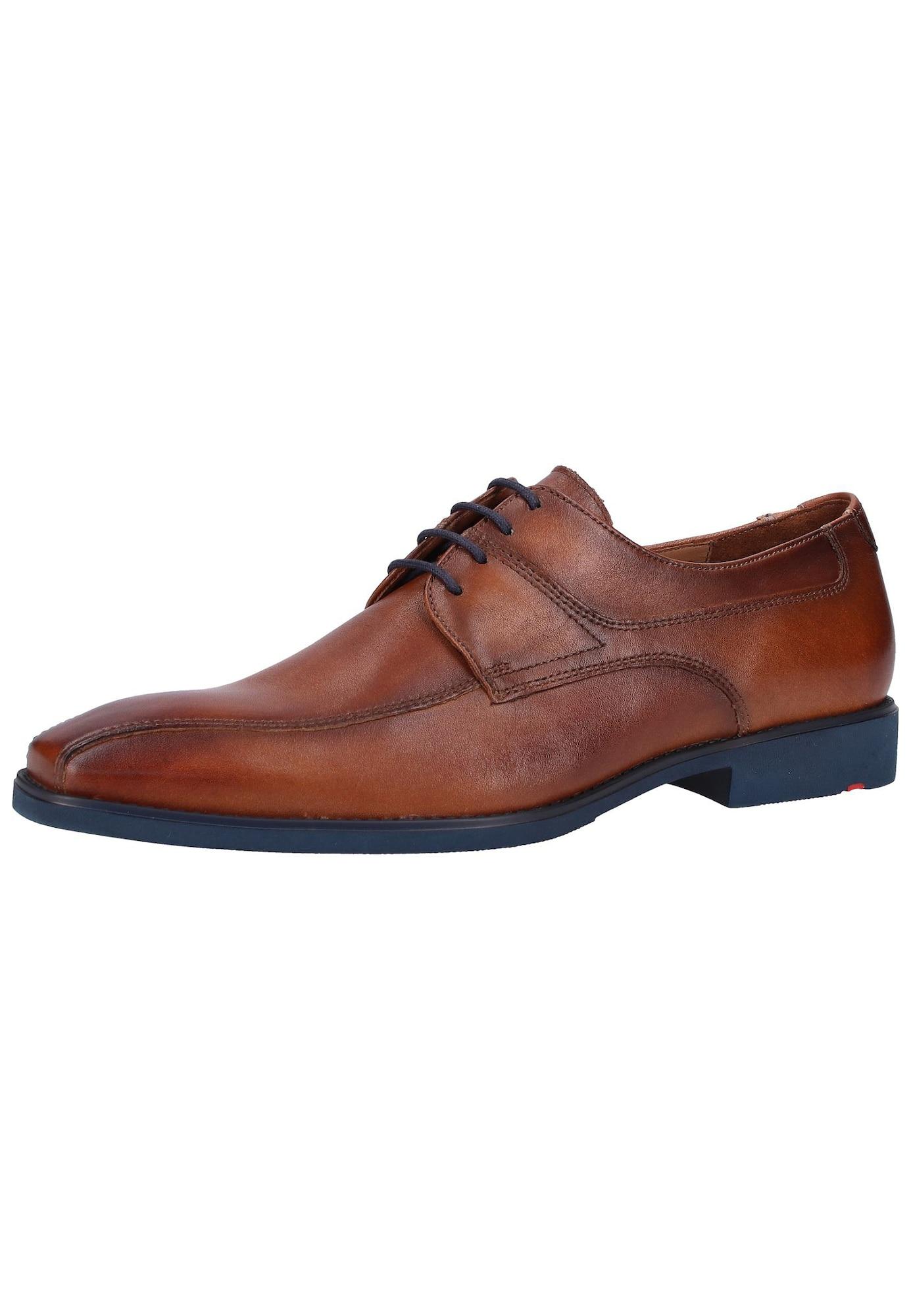 Šněrovací boty rezavě hnědá LLOYD