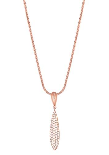 Halskette, mit Zirkonia, »ESPRIT-JW50053 rose, ESNL03370C420«