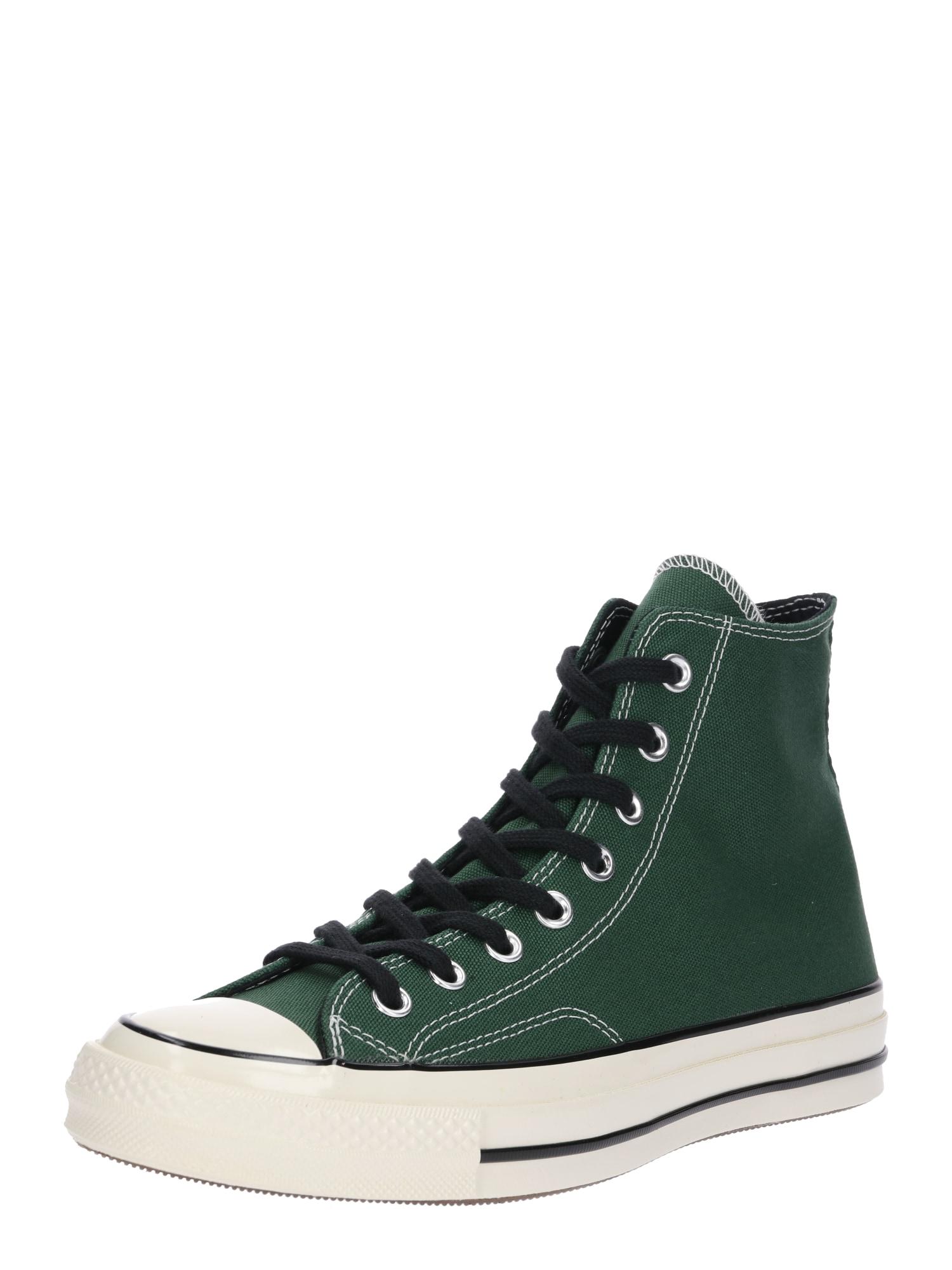 Kotníkové tenisky CHUCK 70 - HI tmavě zelená bílá CONVERSE