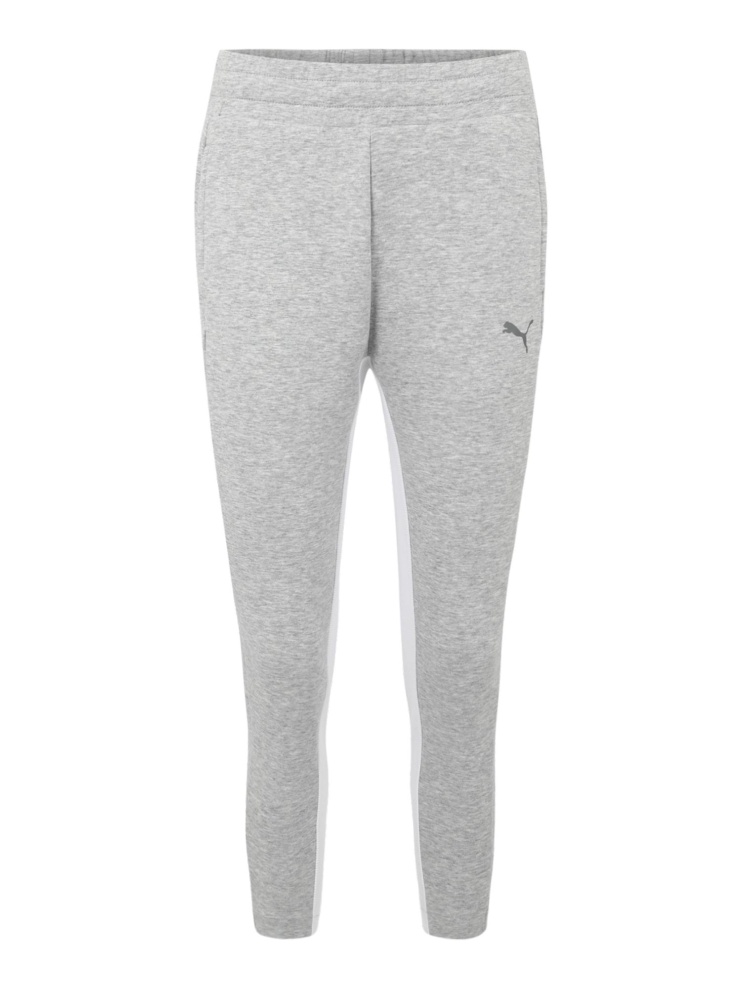 Sportovní kalhoty EVOSTRIPE Pants světle šedá PUMA