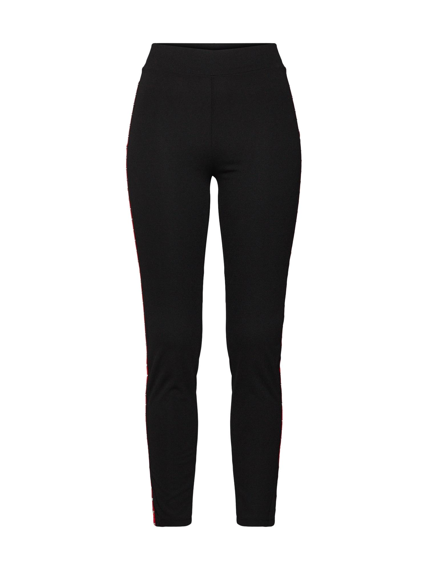 Kalhoty Trousers červená černá WAL G.