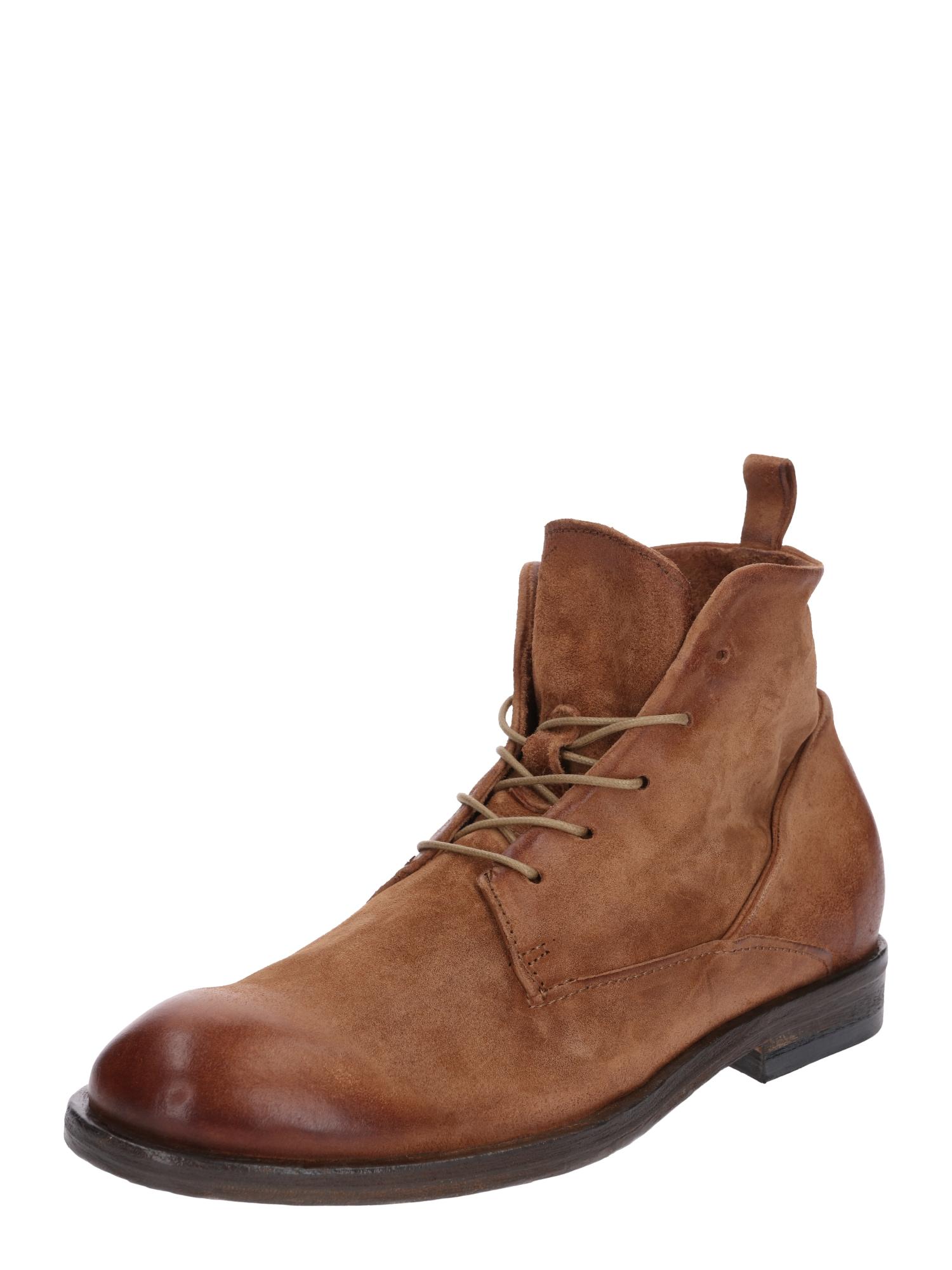 Šněrovací boty Briklane koňaková A.S.98