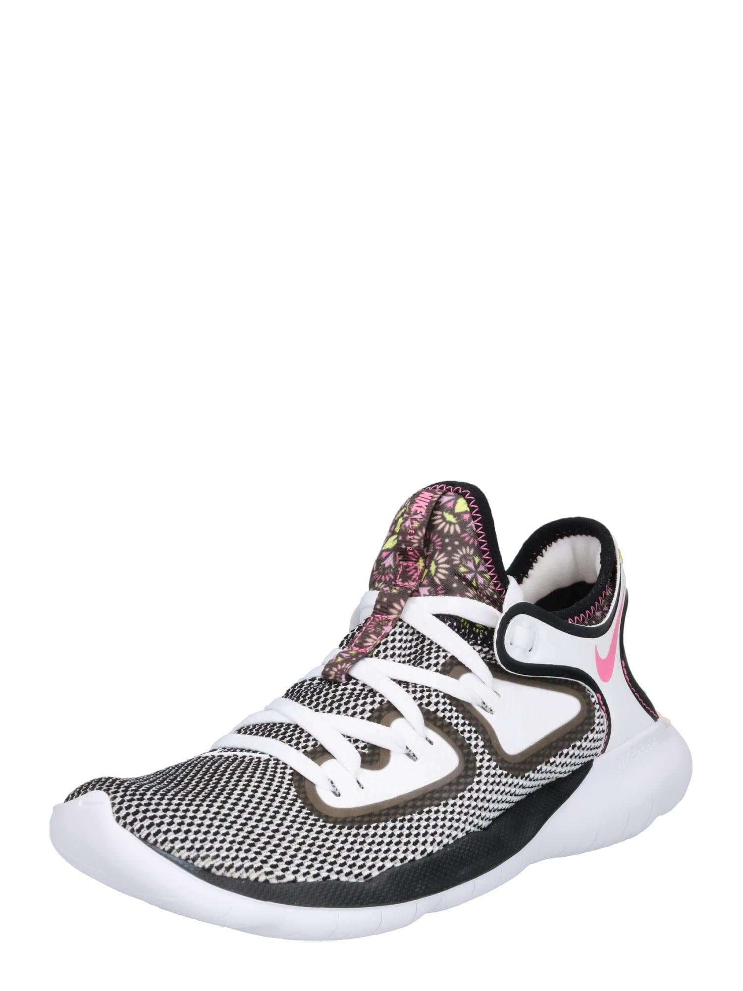 Sportovní boty FLEX šedá růžová bílá NIKE
