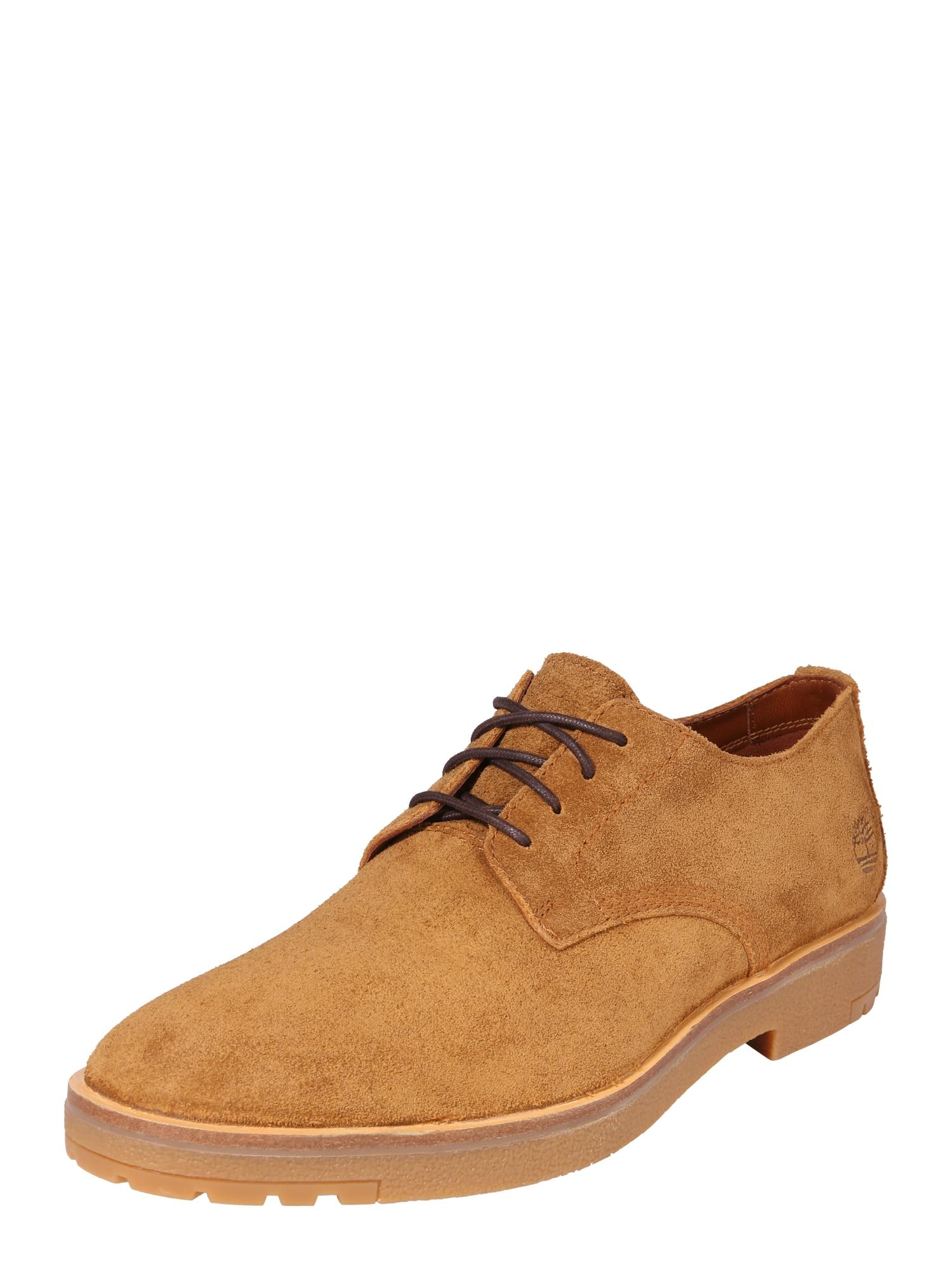 Šněrovací boty Folk Gentleman Ox koňaková TIMBERLAND