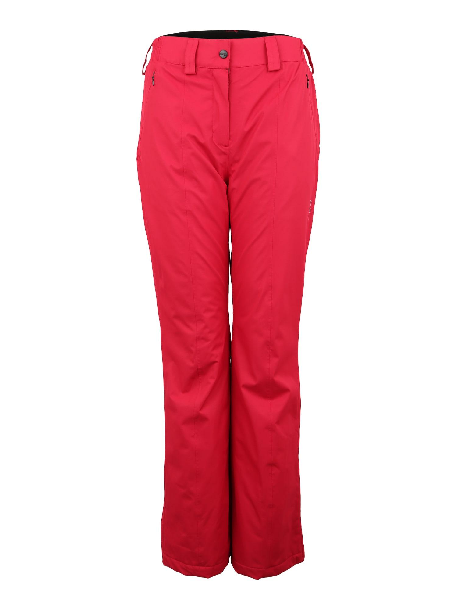Outdoorové kalhoty červená CMP