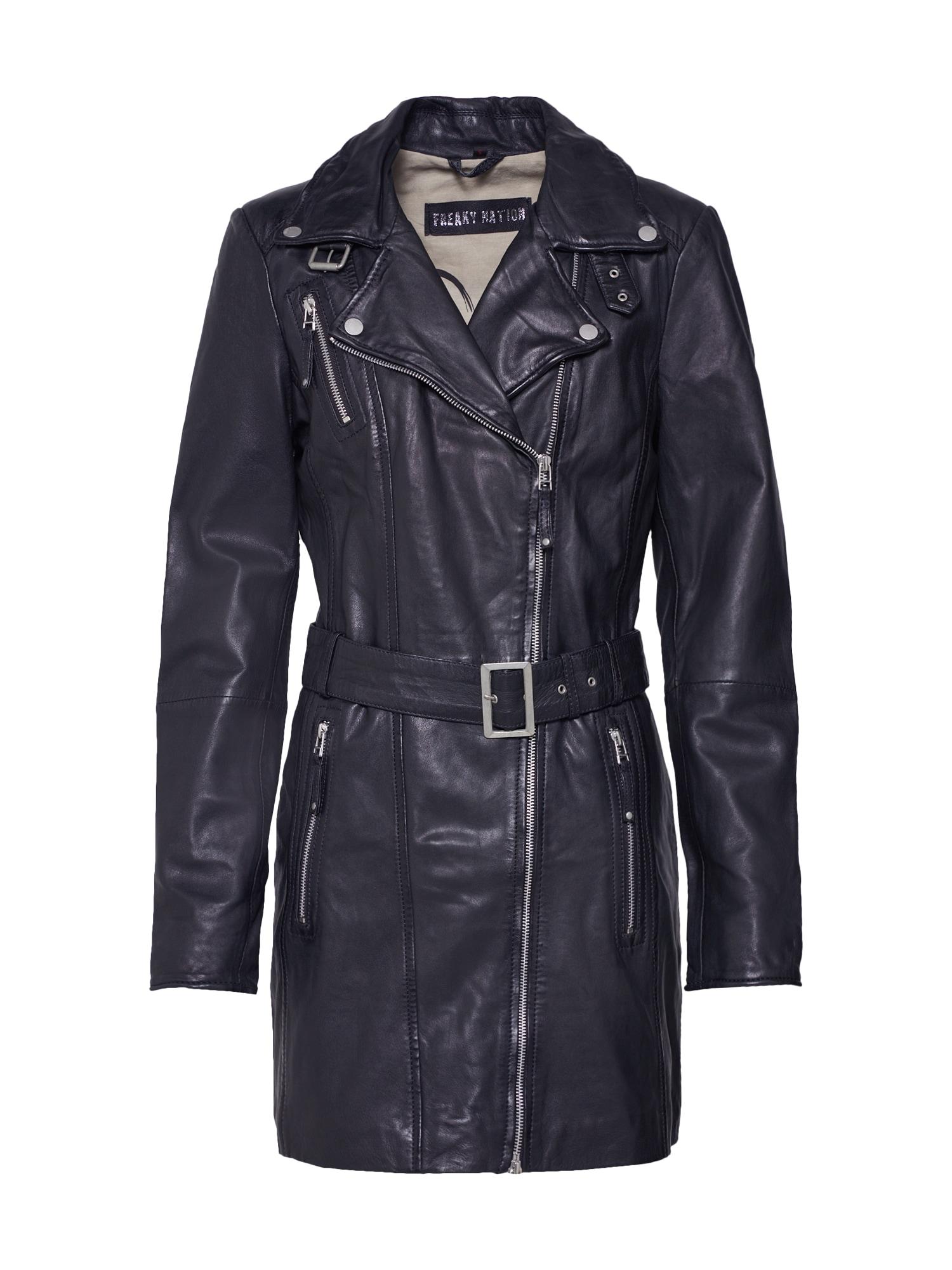Přechodný kabát NYC černá FREAKY NATION