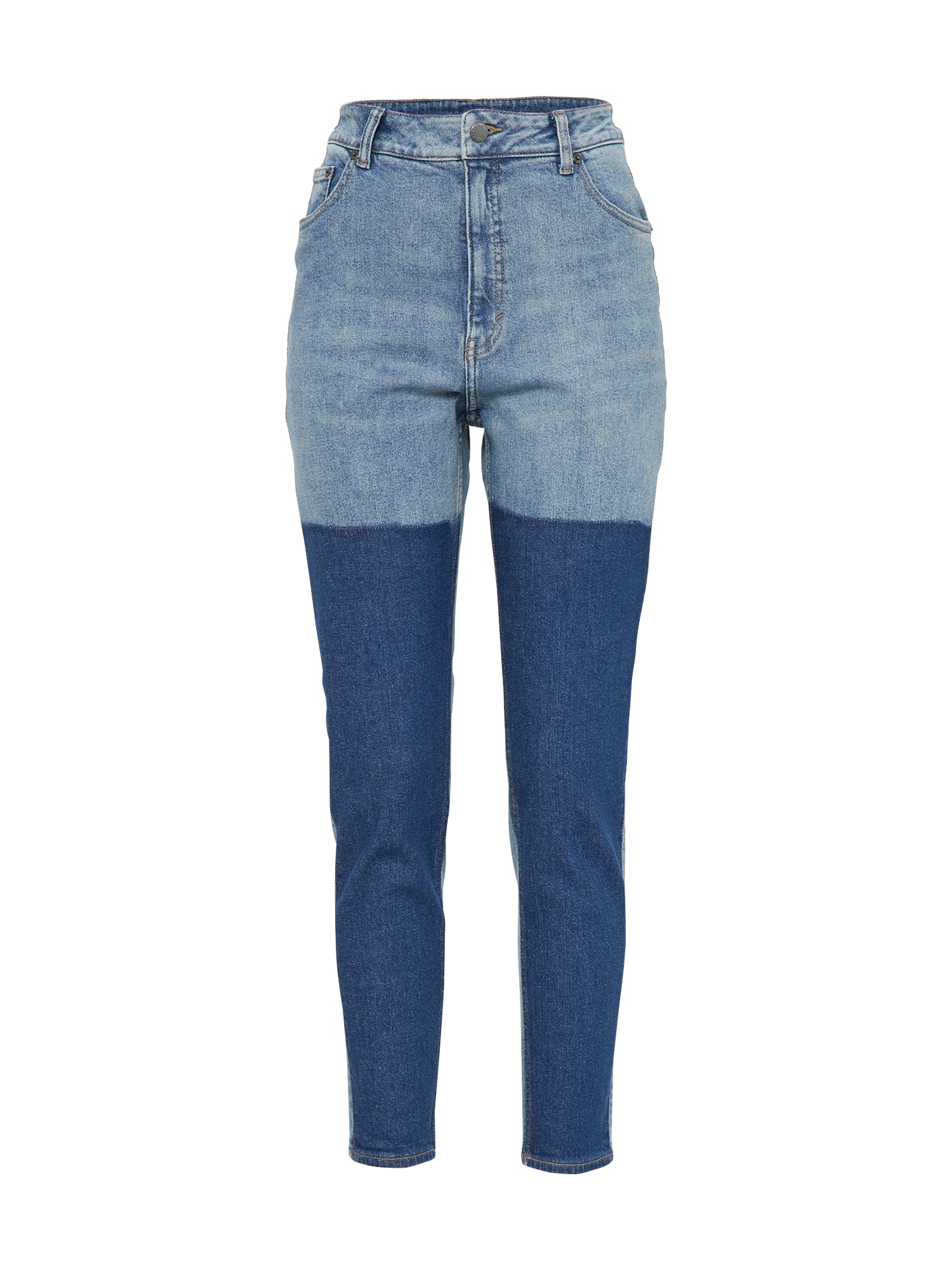 CHEAP MONDAY Dames Jeans Donna blue denim