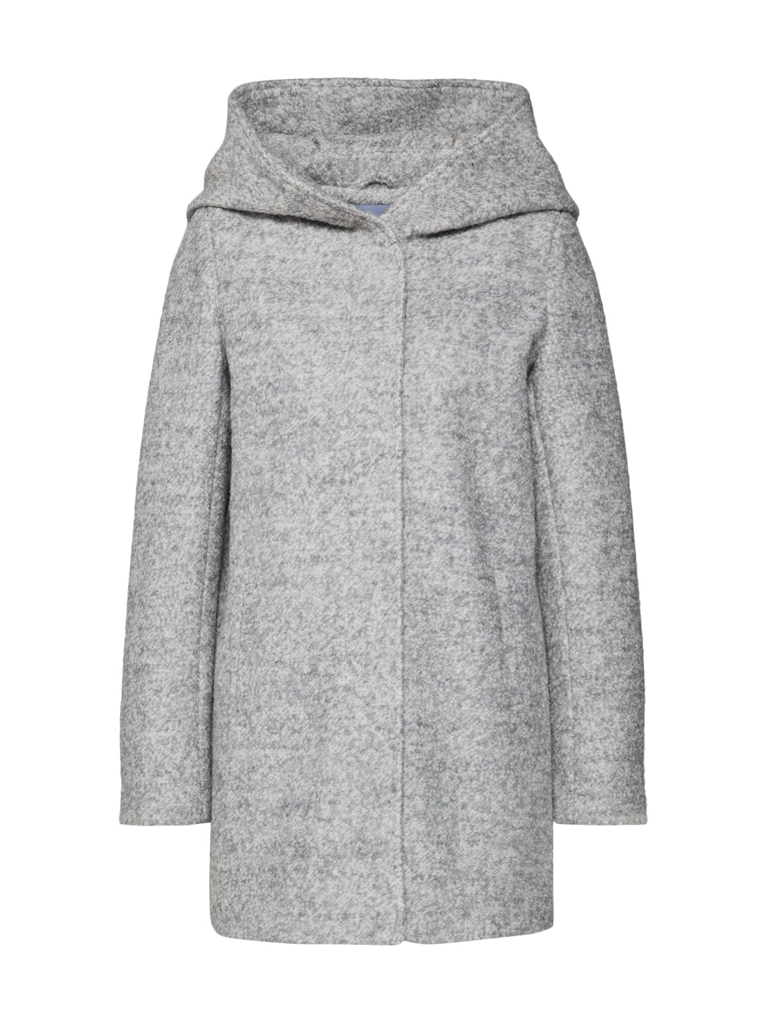 Zimní kabát Selin šedý melír ABOUT YOU