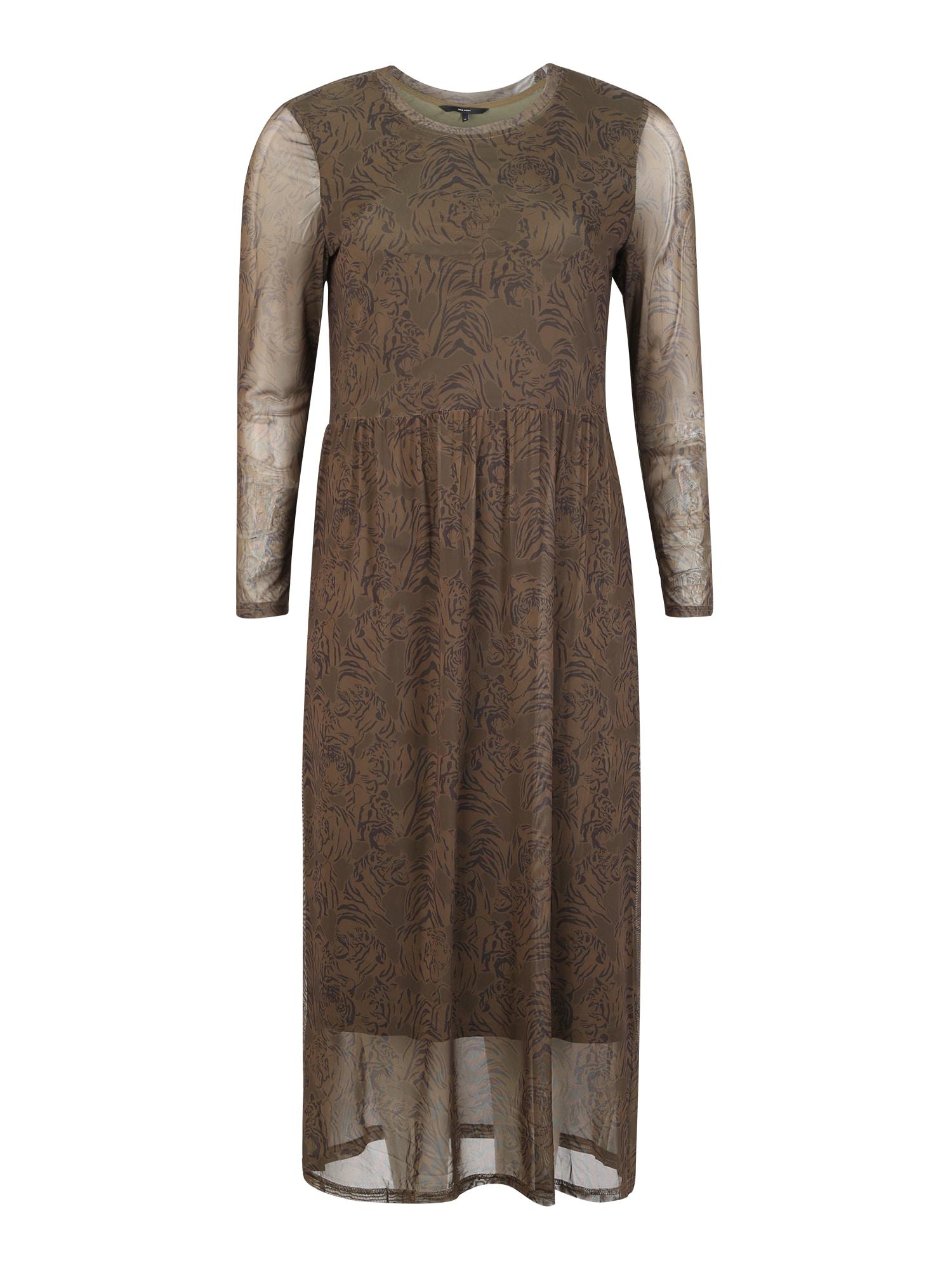 Vero Moda Curve Košilové šaty 'VMKATE'  khaki