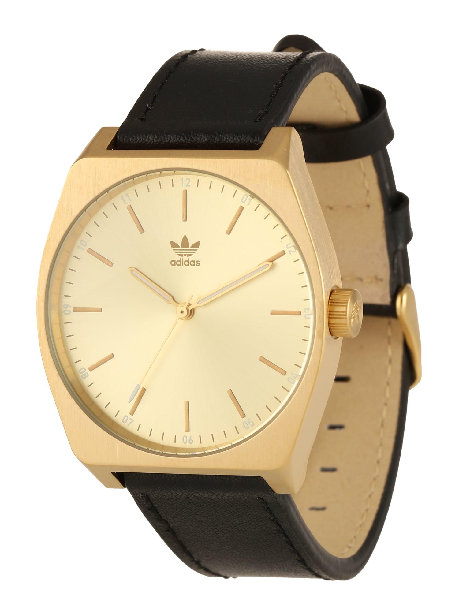 ADIDAS ORIGINALS, Heren Analoog horloge 'Process_L1', goud / zwart