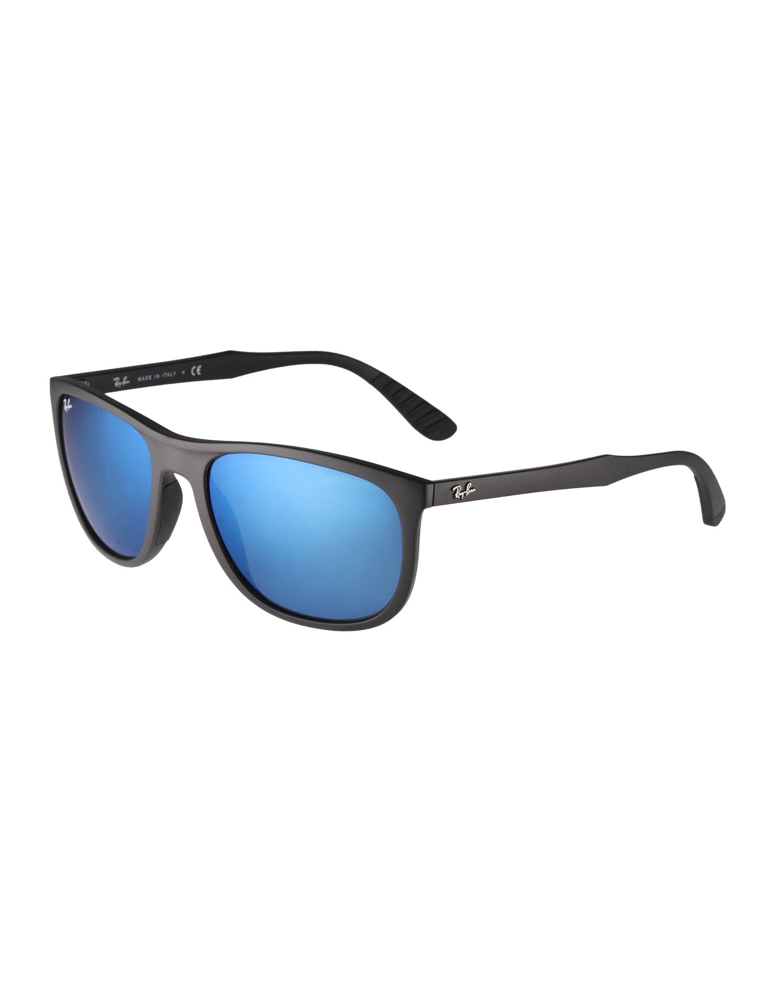 Ray-Ban Sluneční brýle  černá / modrá