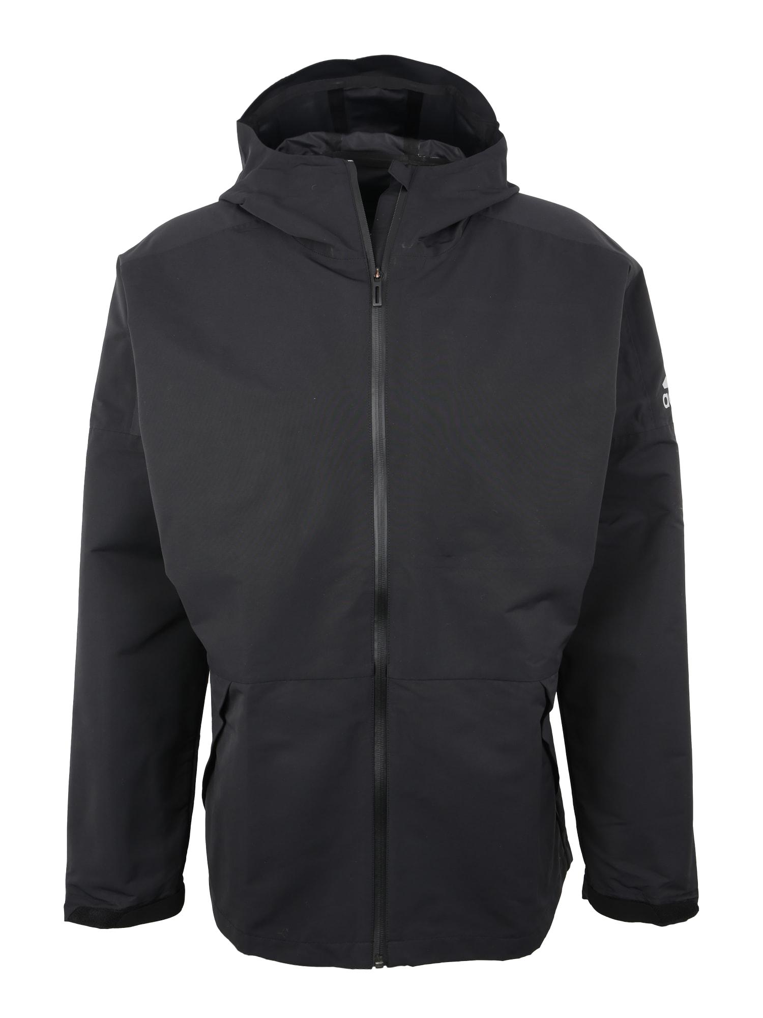 Outdoorová bunda černá ADIDAS PERFORMANCE