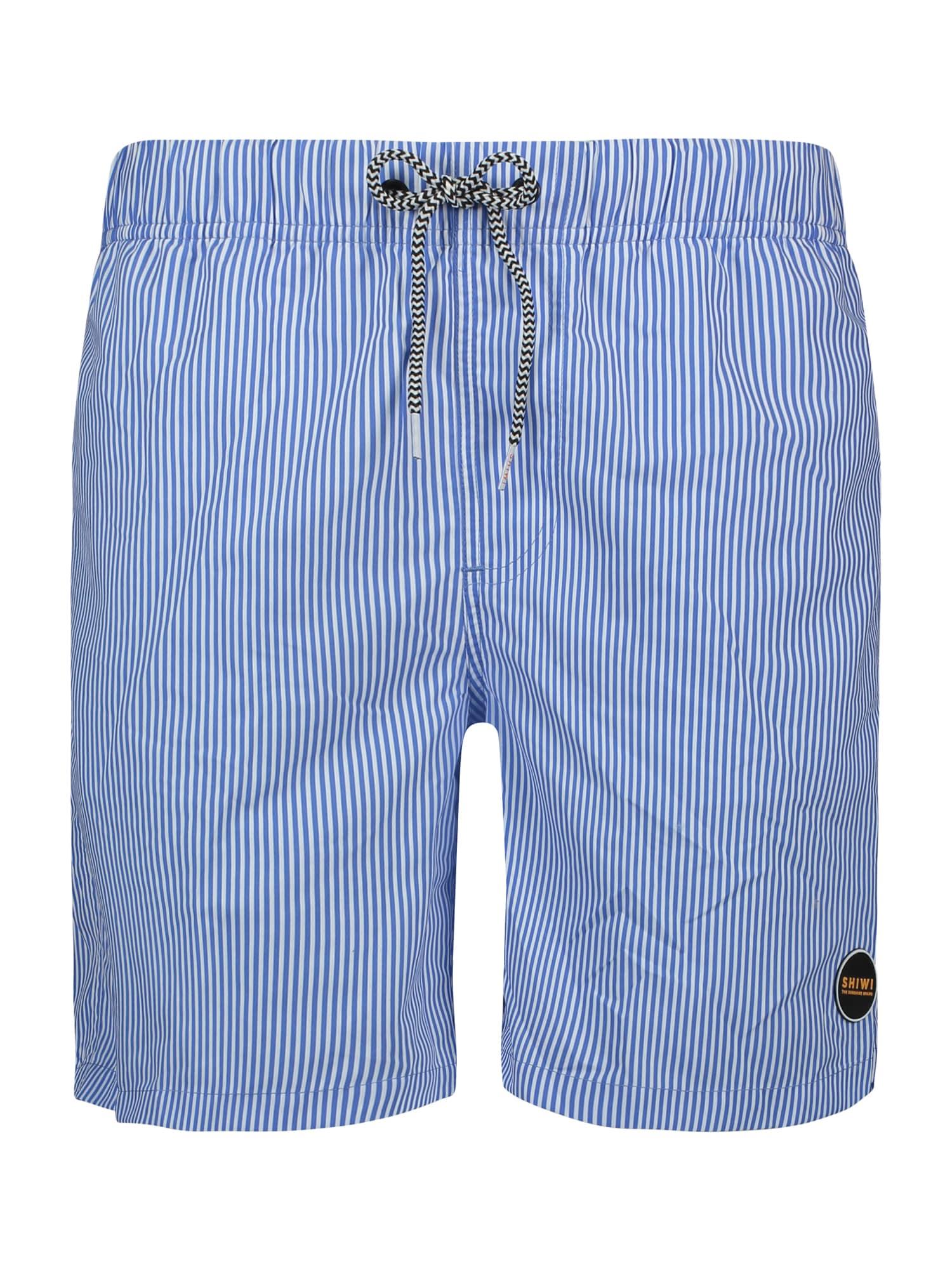 Shiwi Plavky 'Skinny stripe'  modré