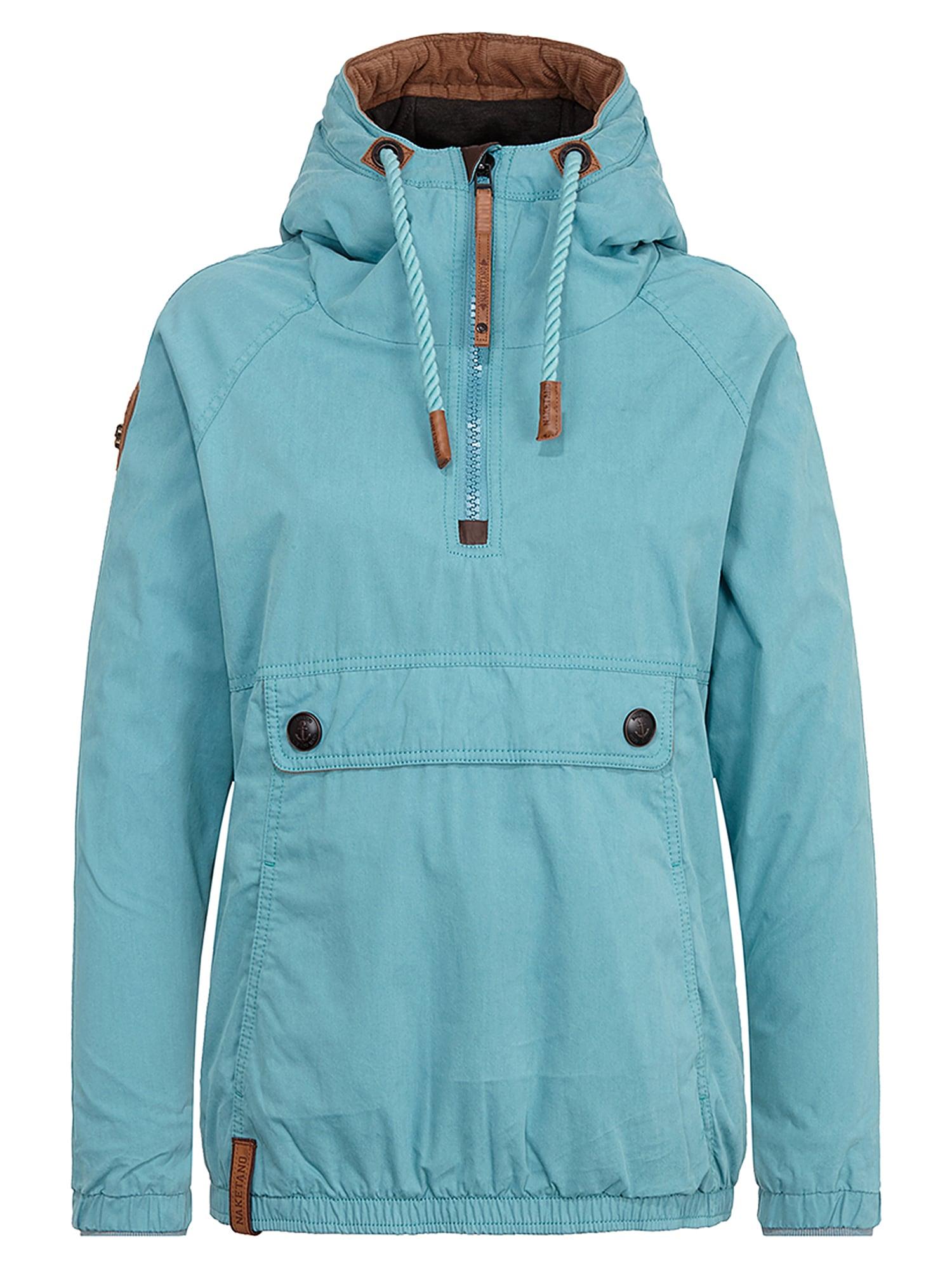 Zimní bunda tyrkysová Naketano