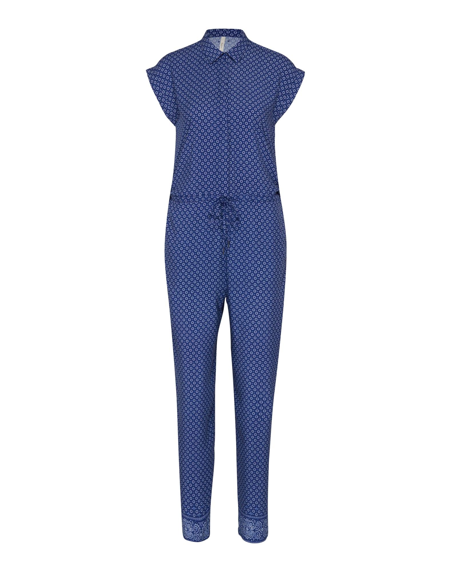 Pepe Jeans Dames Jumpsuit Hazel blauw