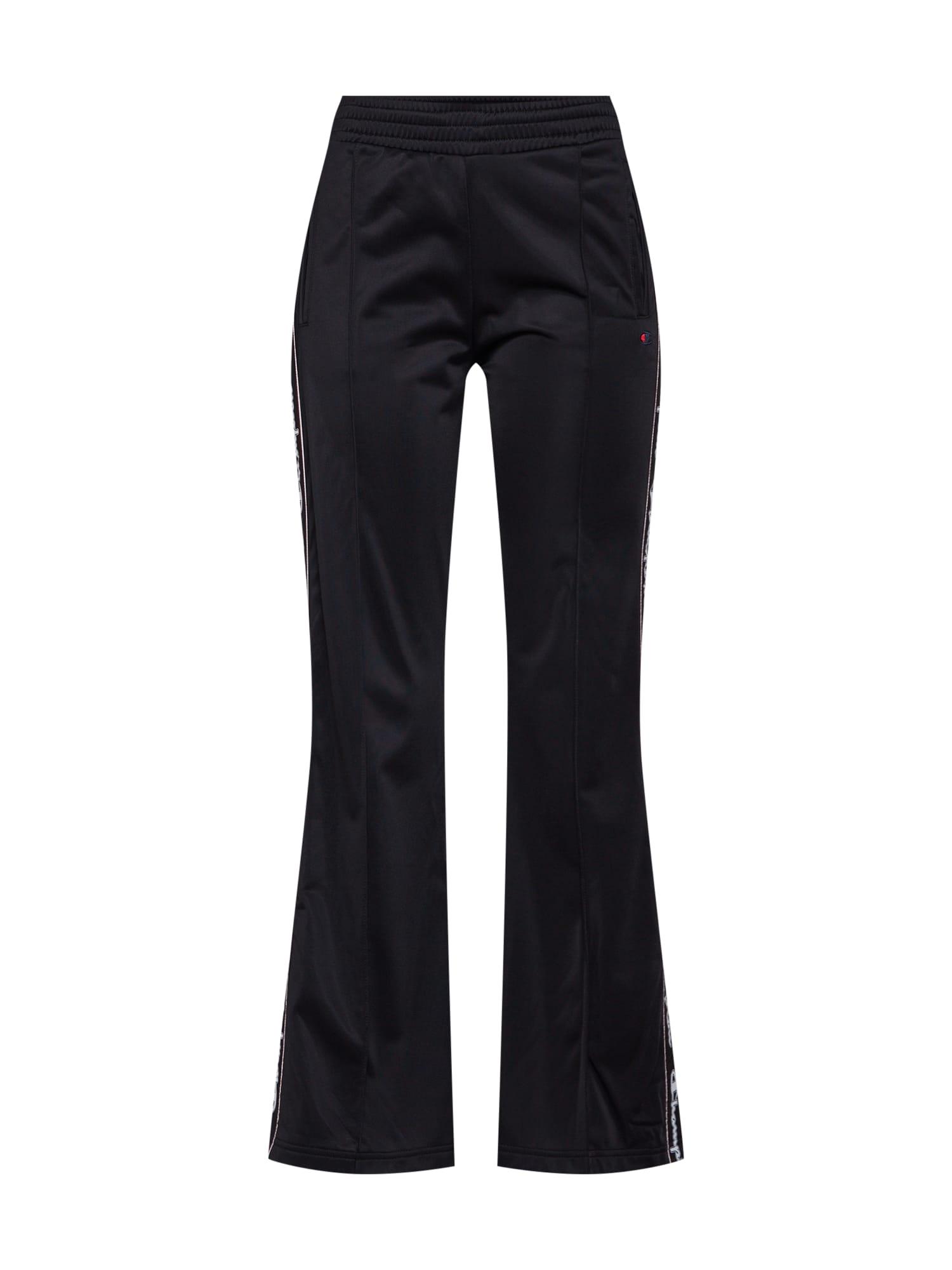 Kalhoty Straight Hem Pants Brand Manifesto černá bílá Champion Authentic Athletic Apparel