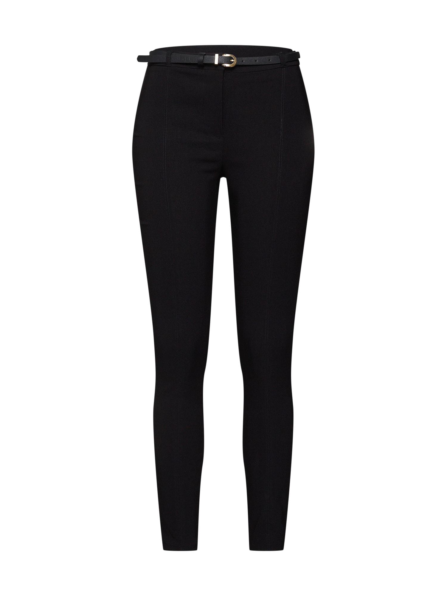 Kalhoty 09.02 WW WW BTS BELT BENGALINE TRS P242 černá NEW LOOK