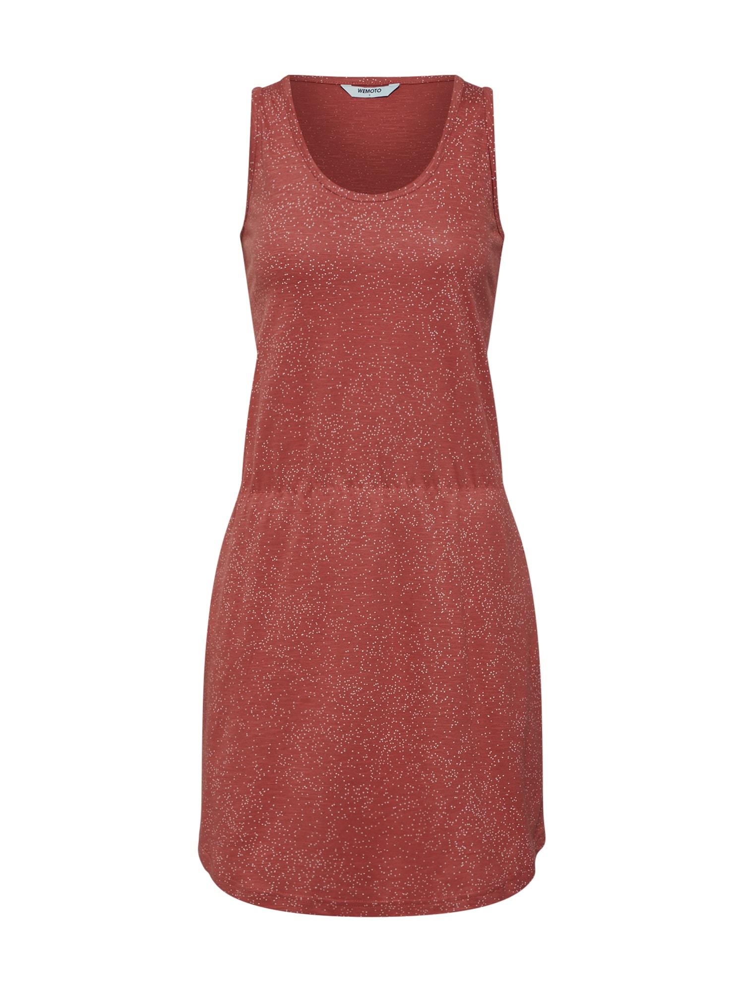 Šaty New Tavi Printed červená bílá Wemoto