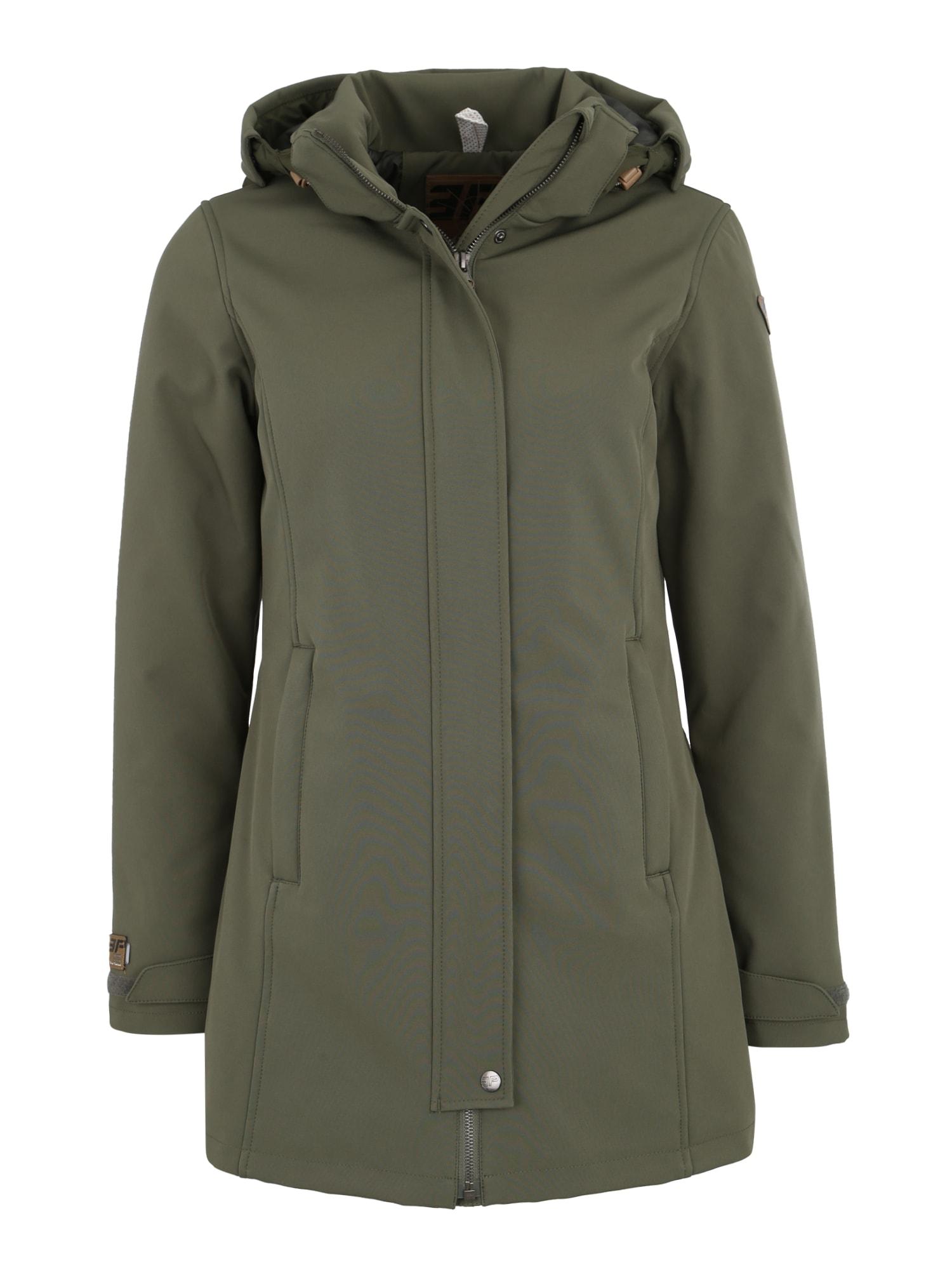 Outdoorový kabát TEZA khaki ICEPEAK