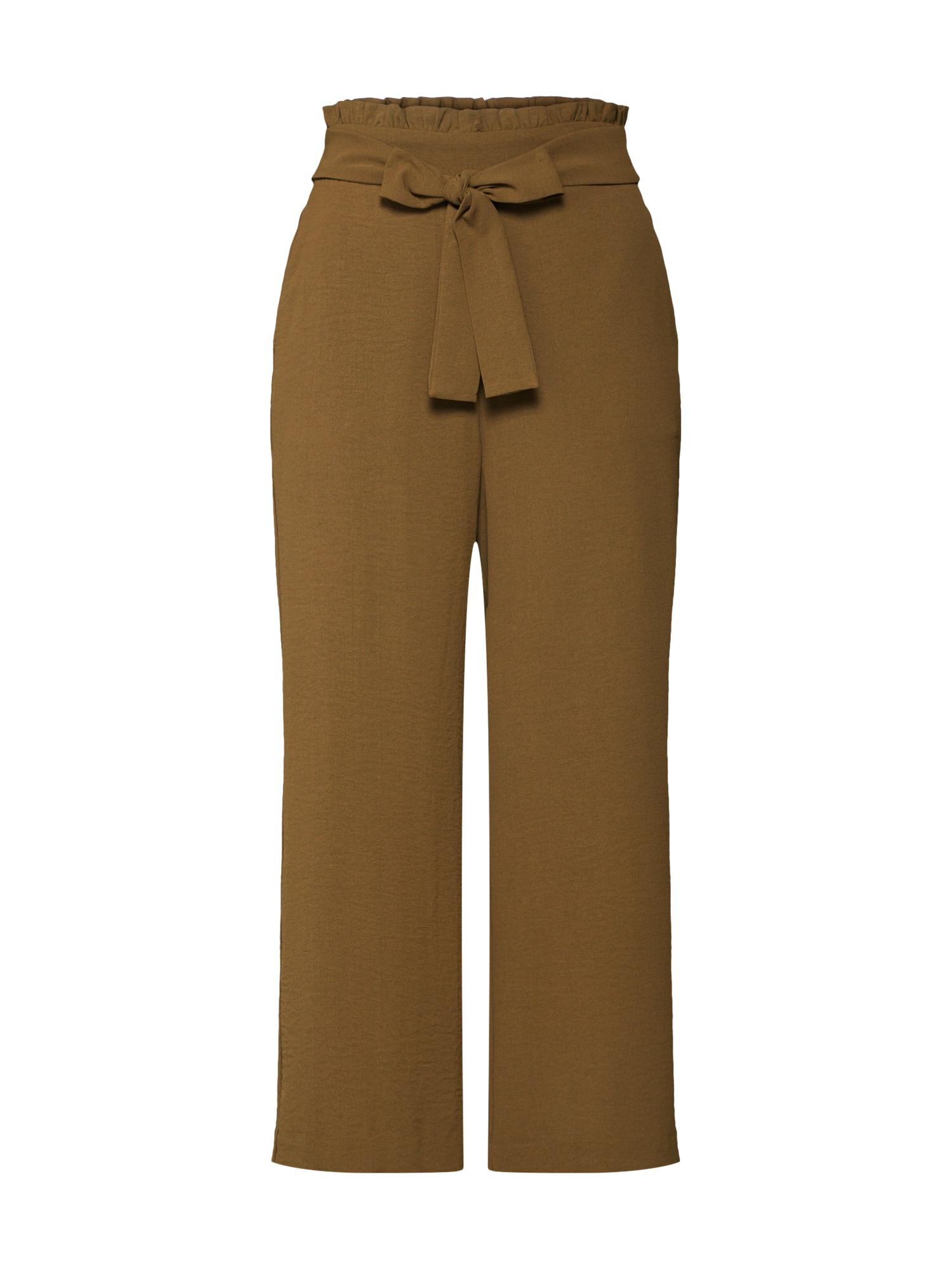 Kalhoty VIRASHA olivová VILA