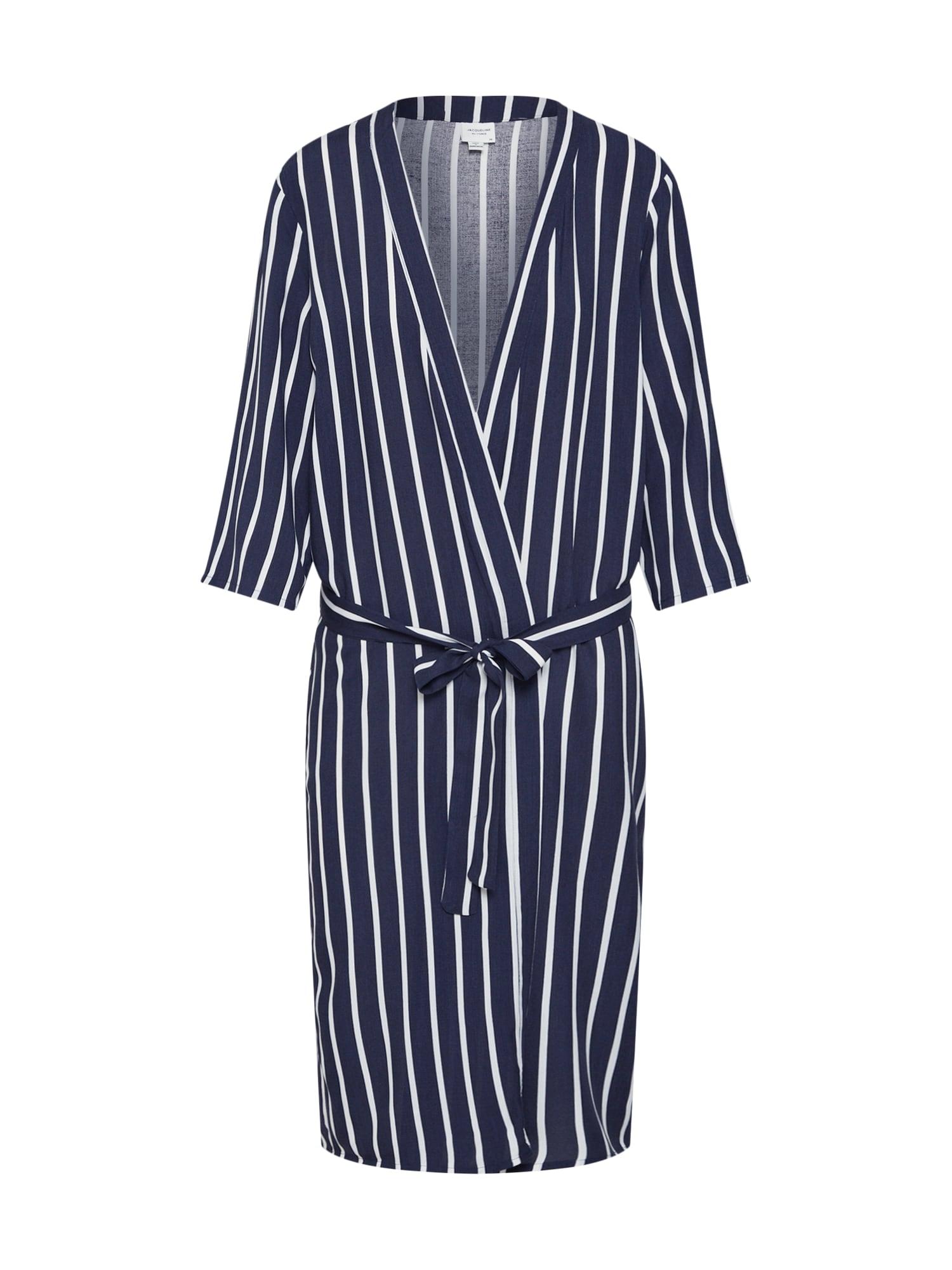 Kimono JDYSTAR 34 KIMONO WVN FS námořnická modř bílá JACQUELINE De YONG
