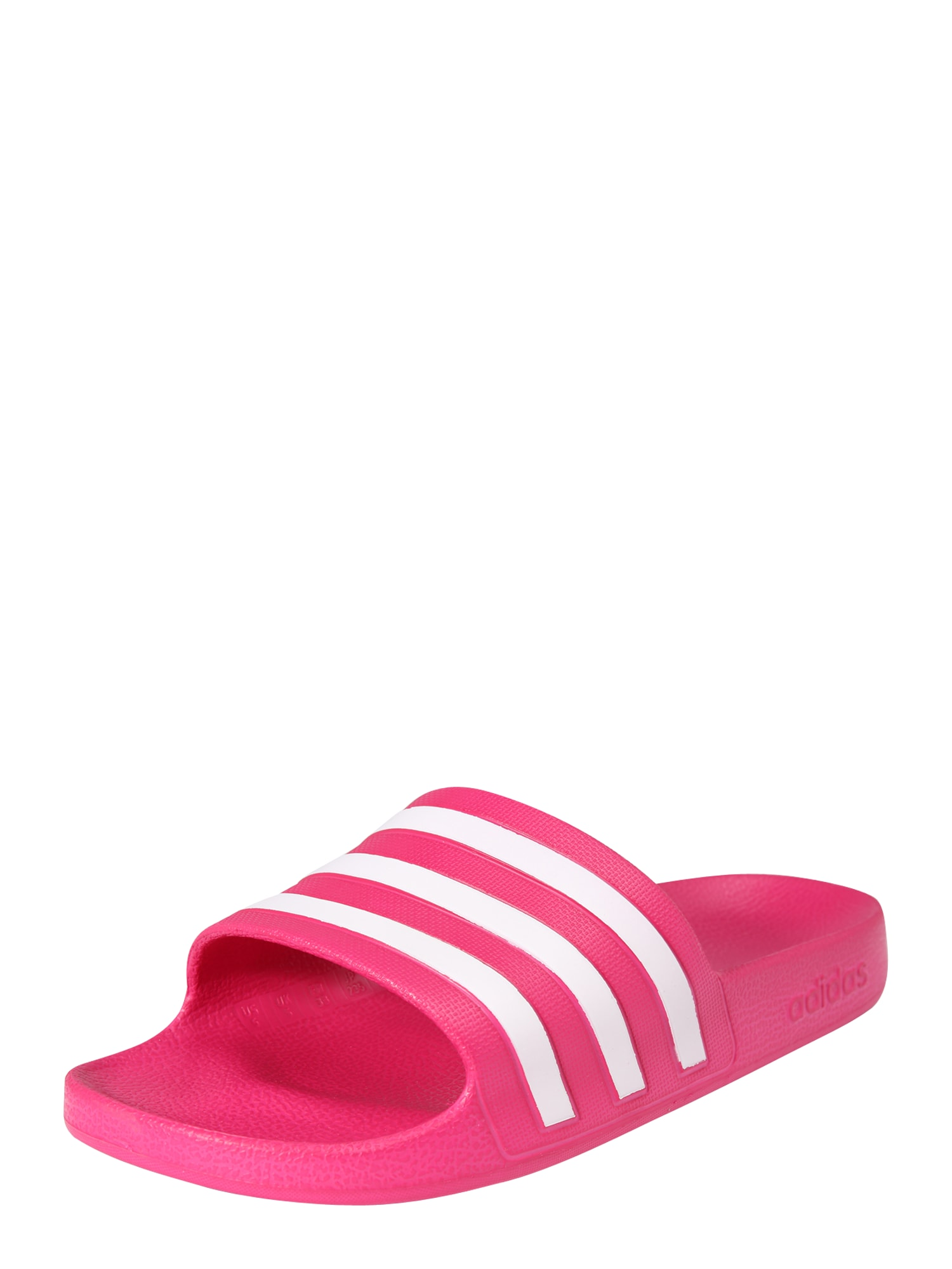 Plážovákoupací obuv Adilette Aqua pink bílá ADIDAS PERFORMANCE