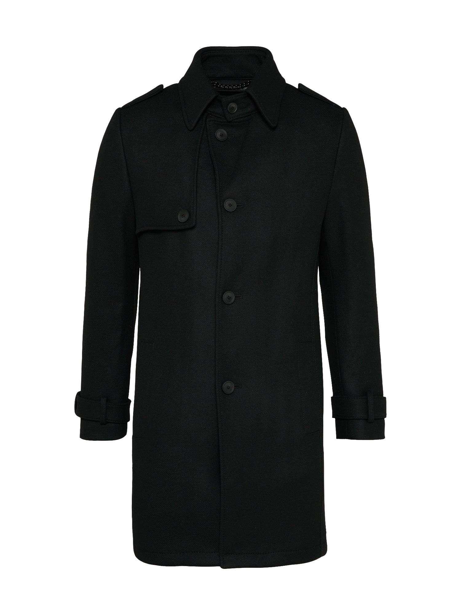 Přechodný kabát SKOPJE černá DRYKORN
