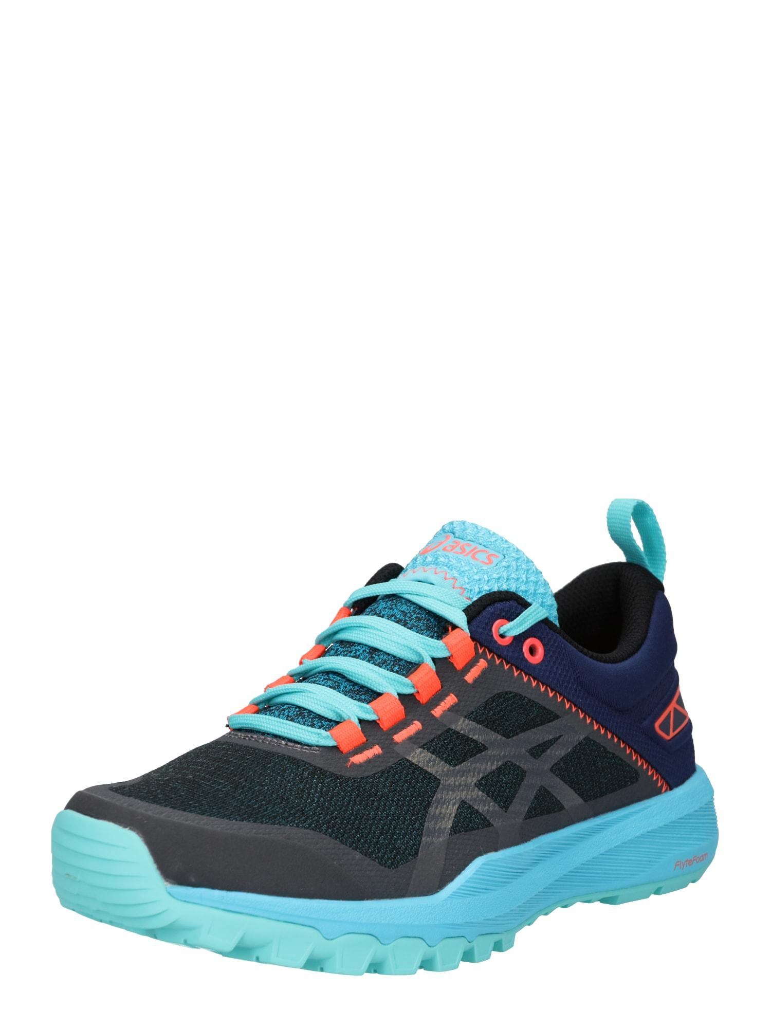 Sportovní boty FUJILYTE XT aqua modrá tmavě modrá oranžová ASICS