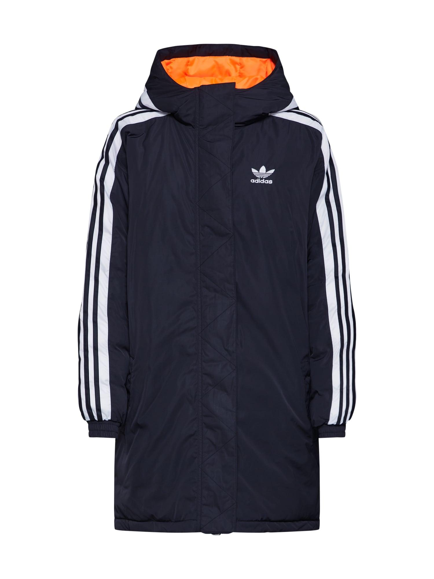 Zimní kabát černá ADIDAS ORIGINALS