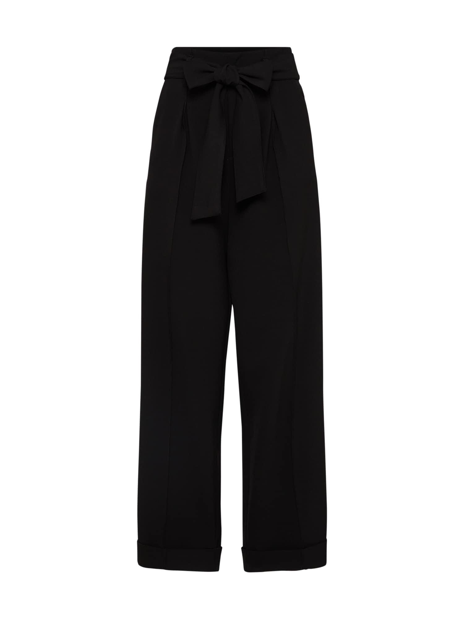 Kalhoty s puky PW WIDEZ černá Bik Bok