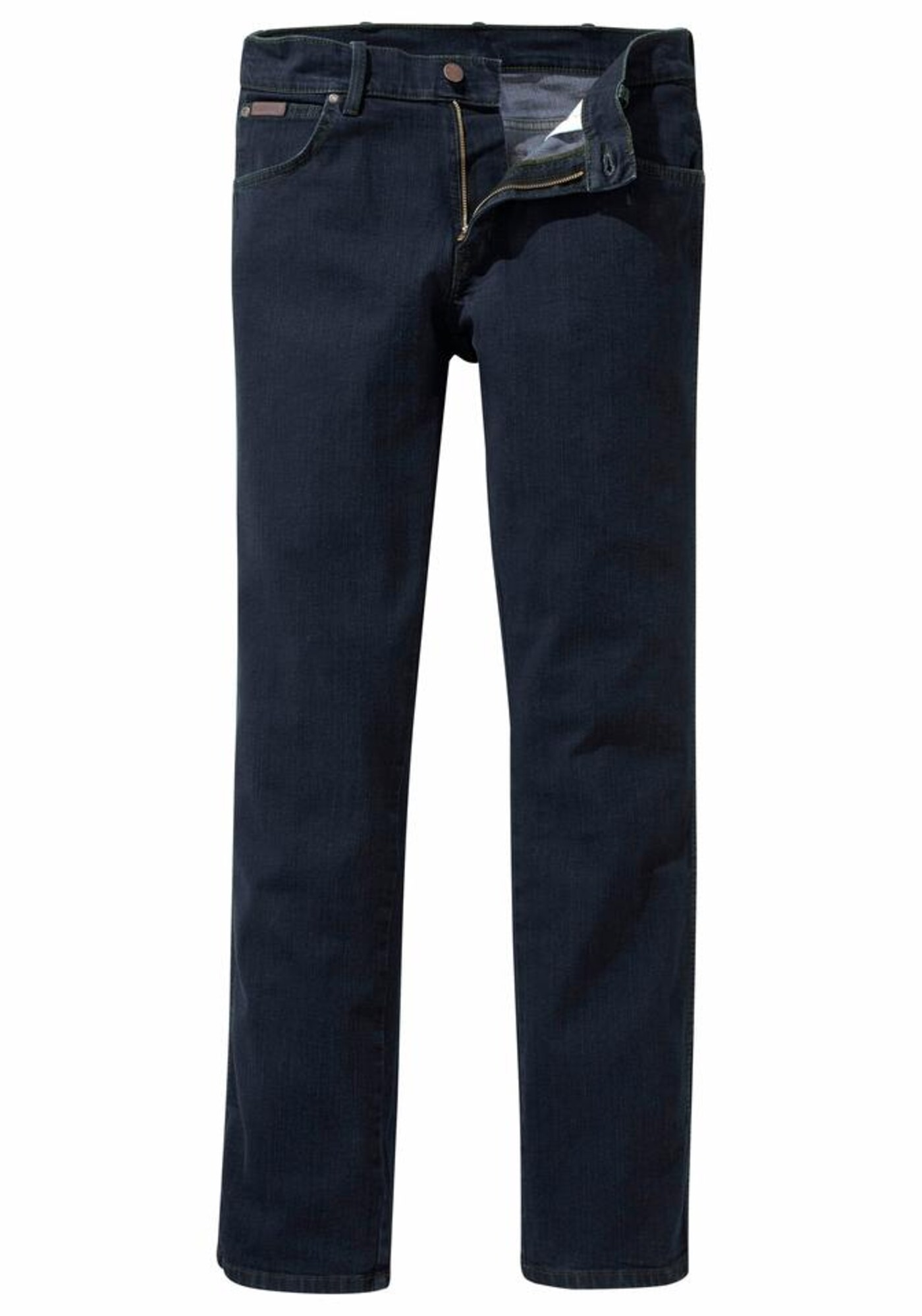 WRANGLER Heren Jeans Texas Stretch donkerblauw