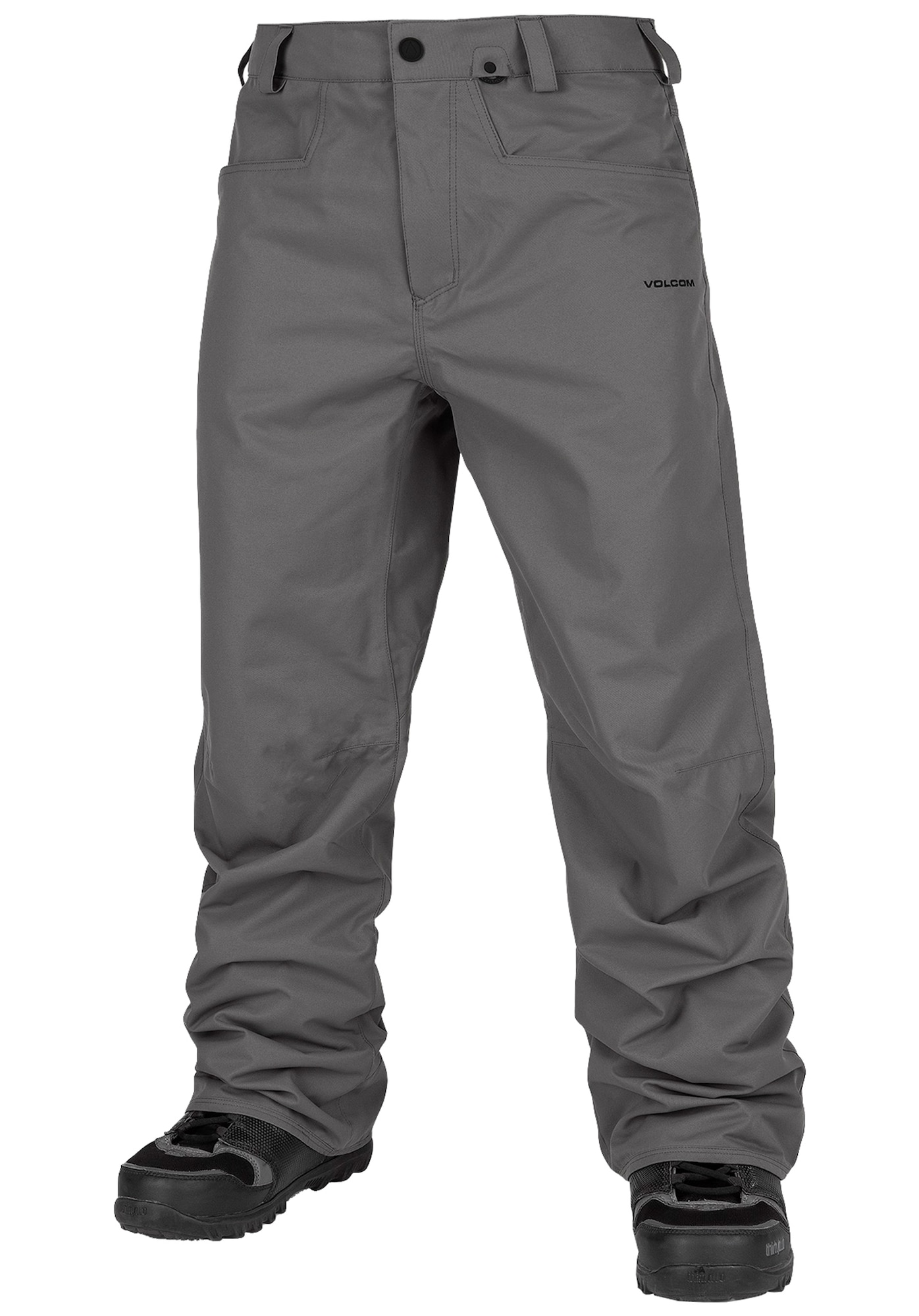 Snowboardhose 'Carbon' | Sportbekleidung > Sporthosen > Snowboardhosen | Grau | Volcom