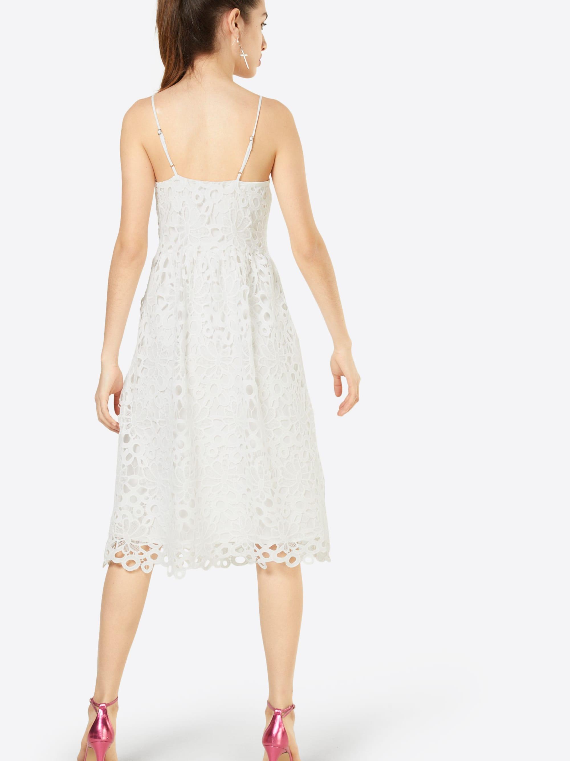 VILA Sukienka koktajlowa 'VIDALTON DRESS/1'  biały